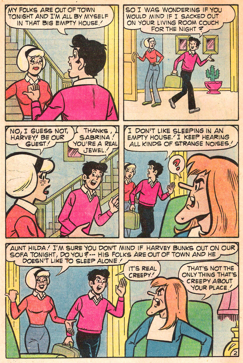 Sabrina The Teenage Witch (1971) Issue #53 #53 - English 4