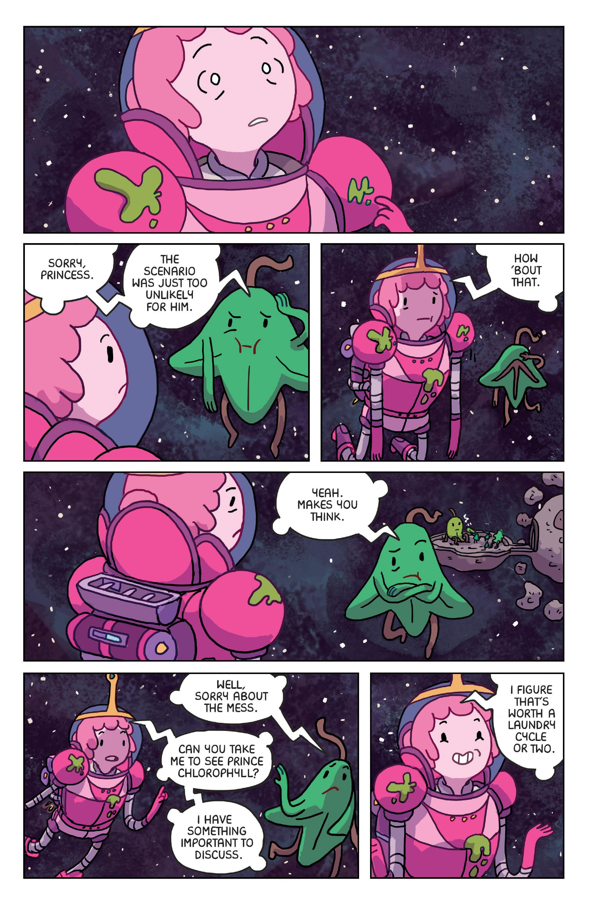 Read online Adventure Time: Marceline Gone Adrift comic -  Issue #4 - 8