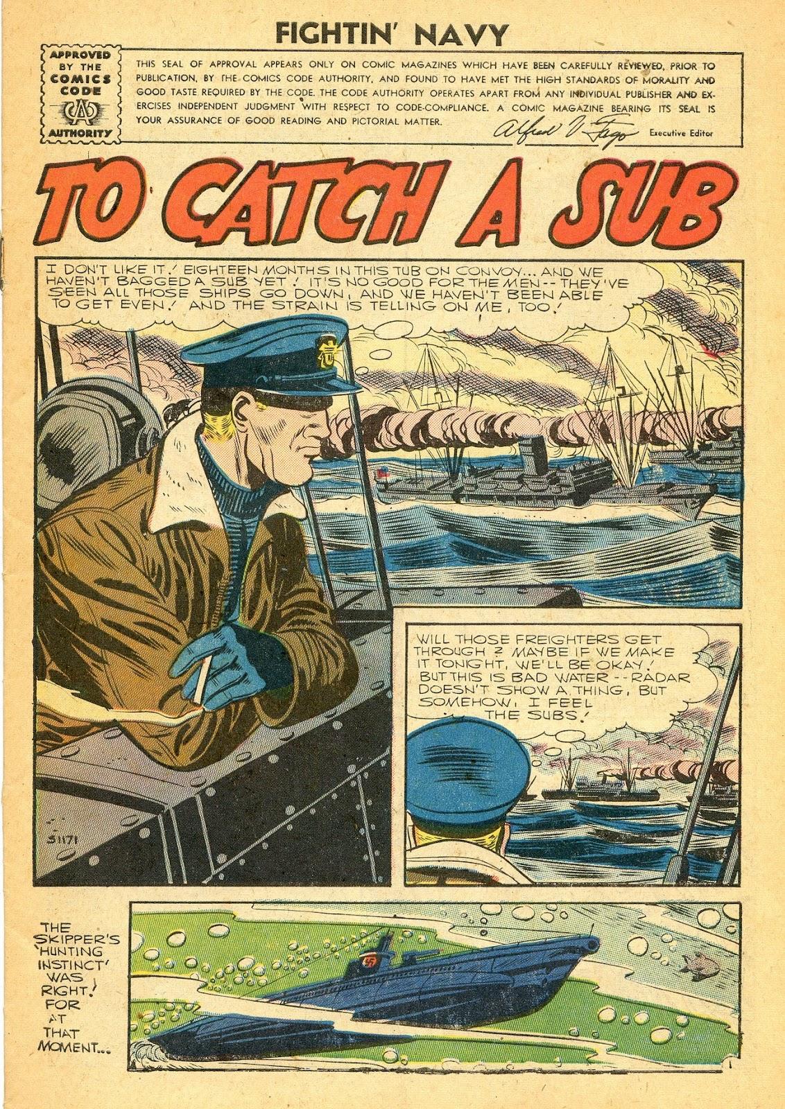 Read online Fightin' Navy comic -  Issue #77 - 3