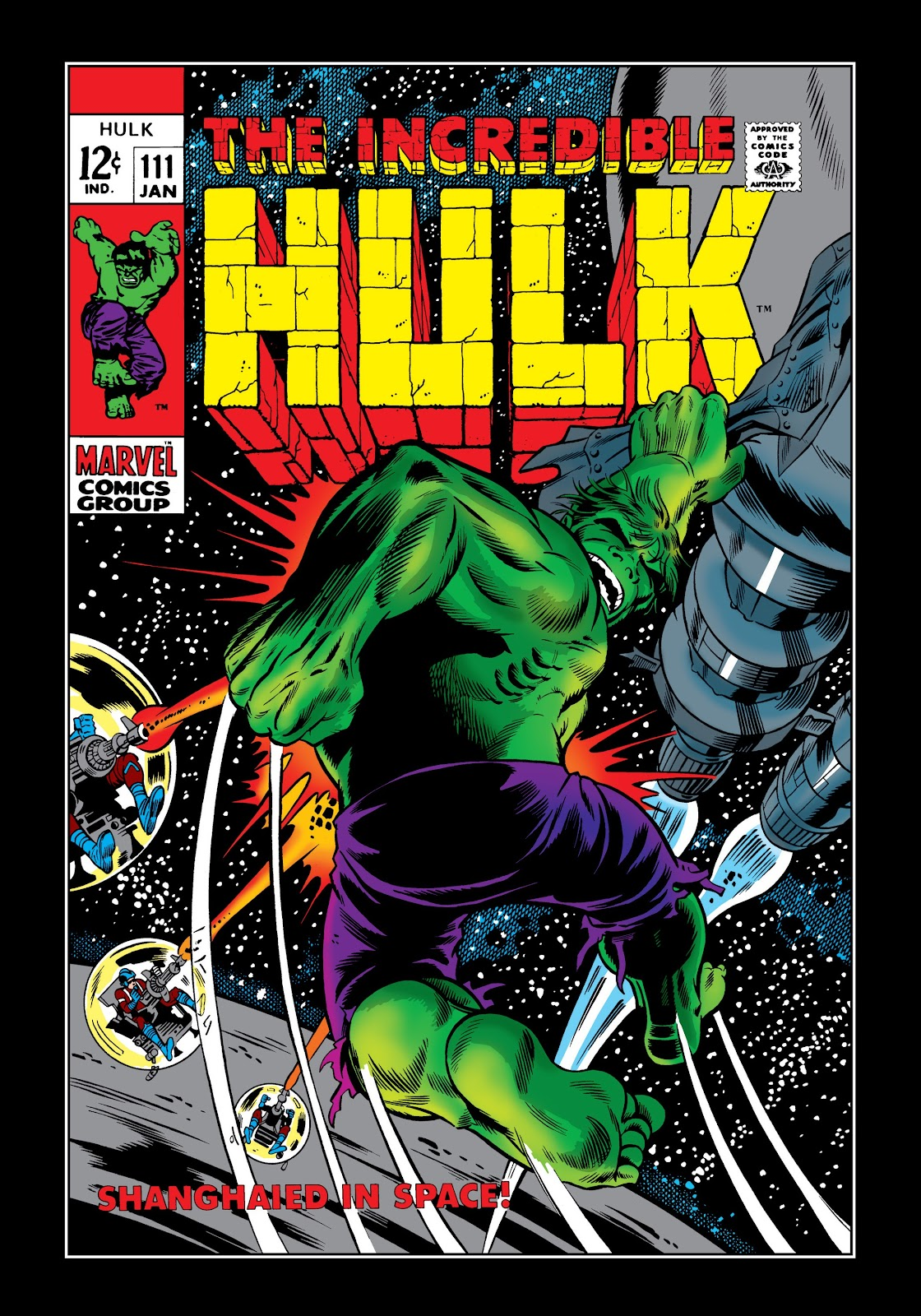 Read online Marvel Masterworks: The Incredible Hulk comic -  Issue # TPB 5 (Part 1) - 6
