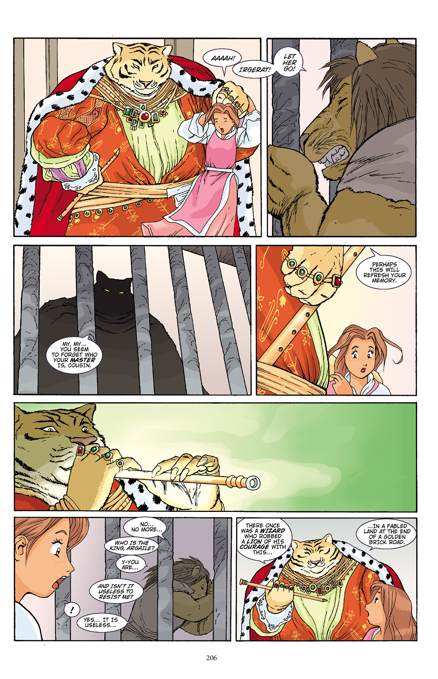 Read online Courageous Princess comic -  Issue # TPB 1 - 203