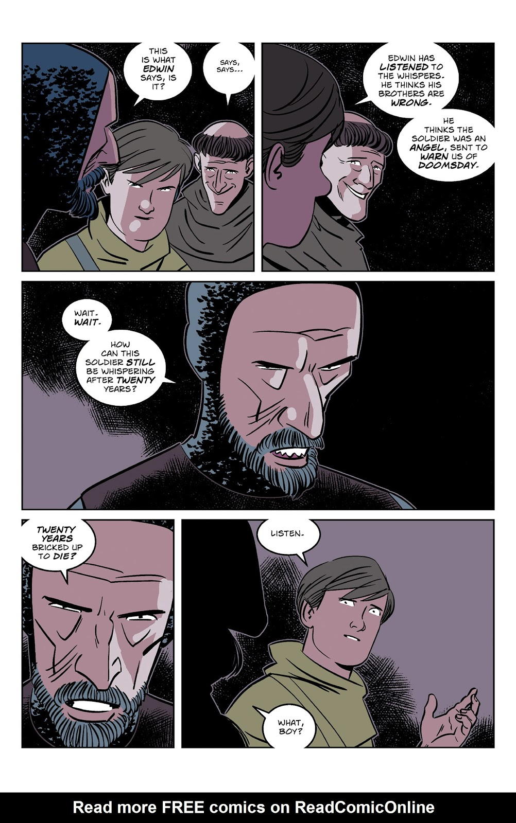 Read online Dark Ages comic -  Issue #2 - 23