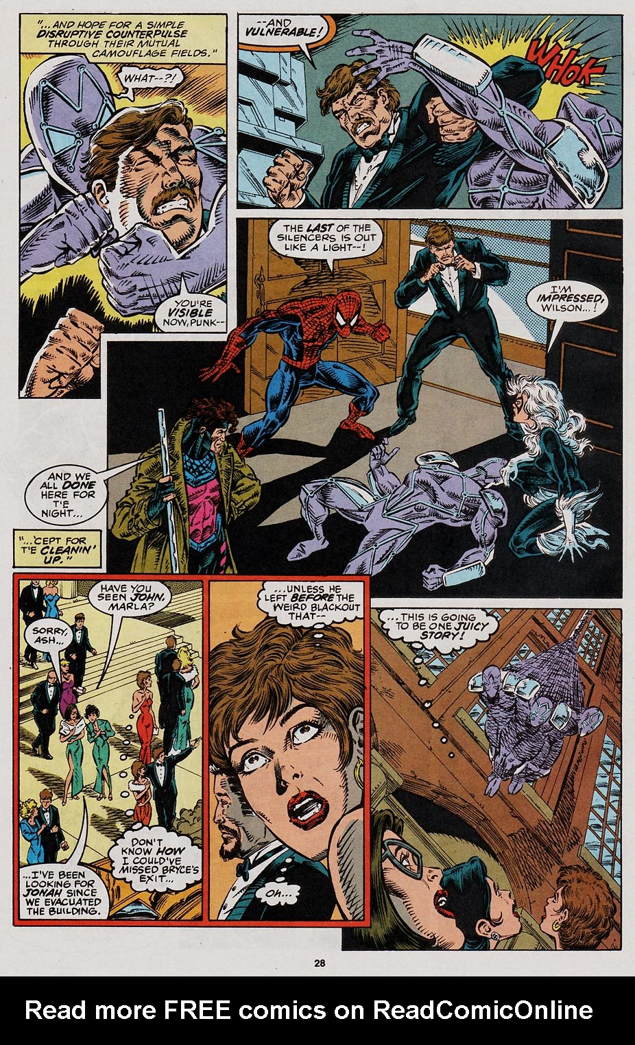Web of Spider-Man (1985) Issue #113 #123 - English 23
