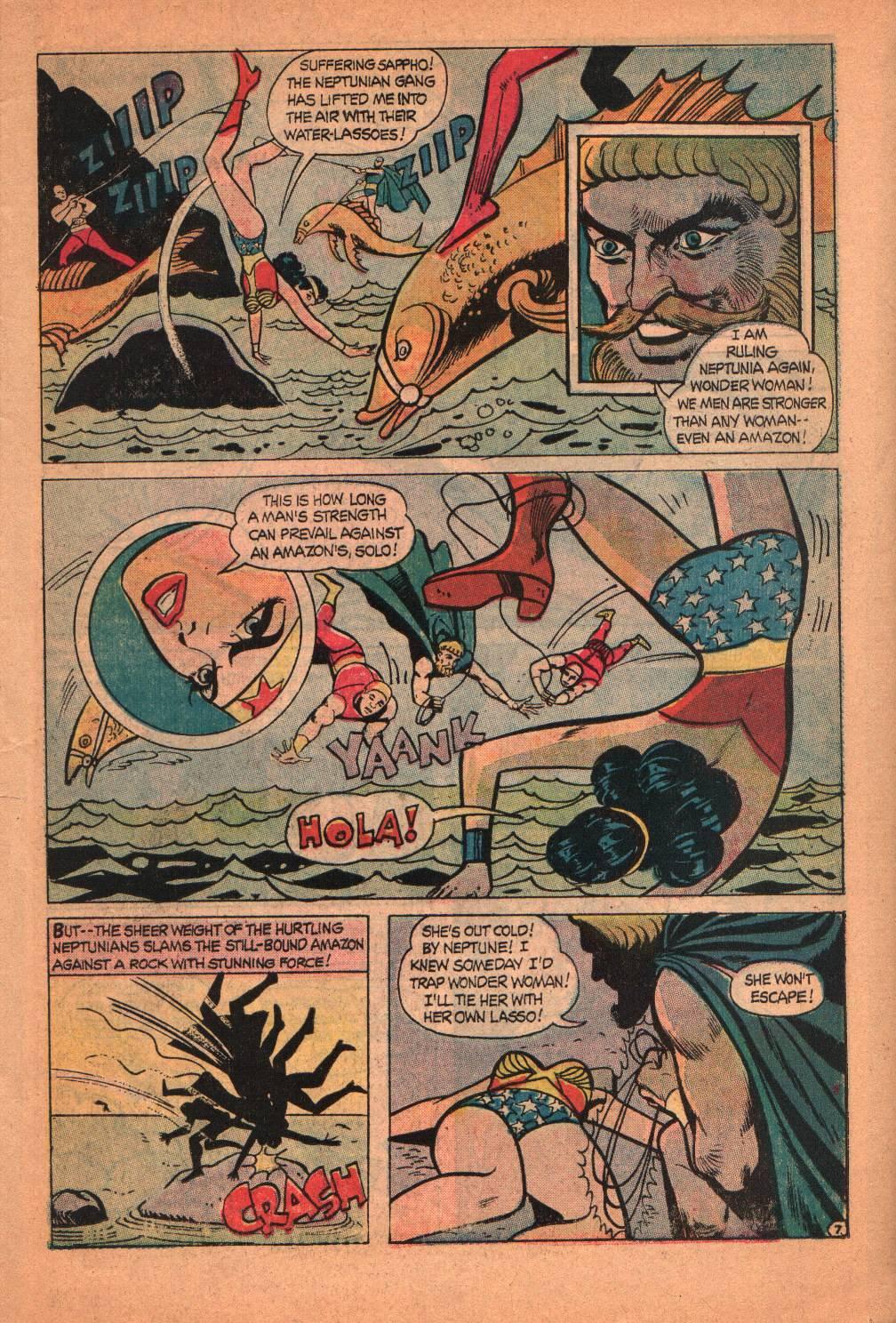 Read online Wonder Woman (1942) comic -  Issue #209 - 11