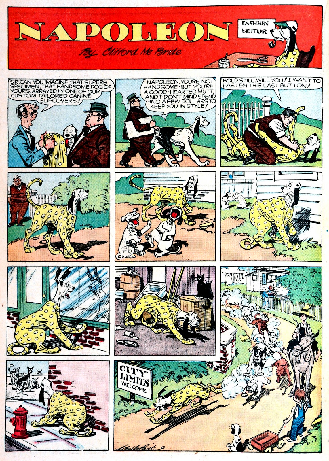 Read online Famous Funnies comic -  Issue #76 - 35