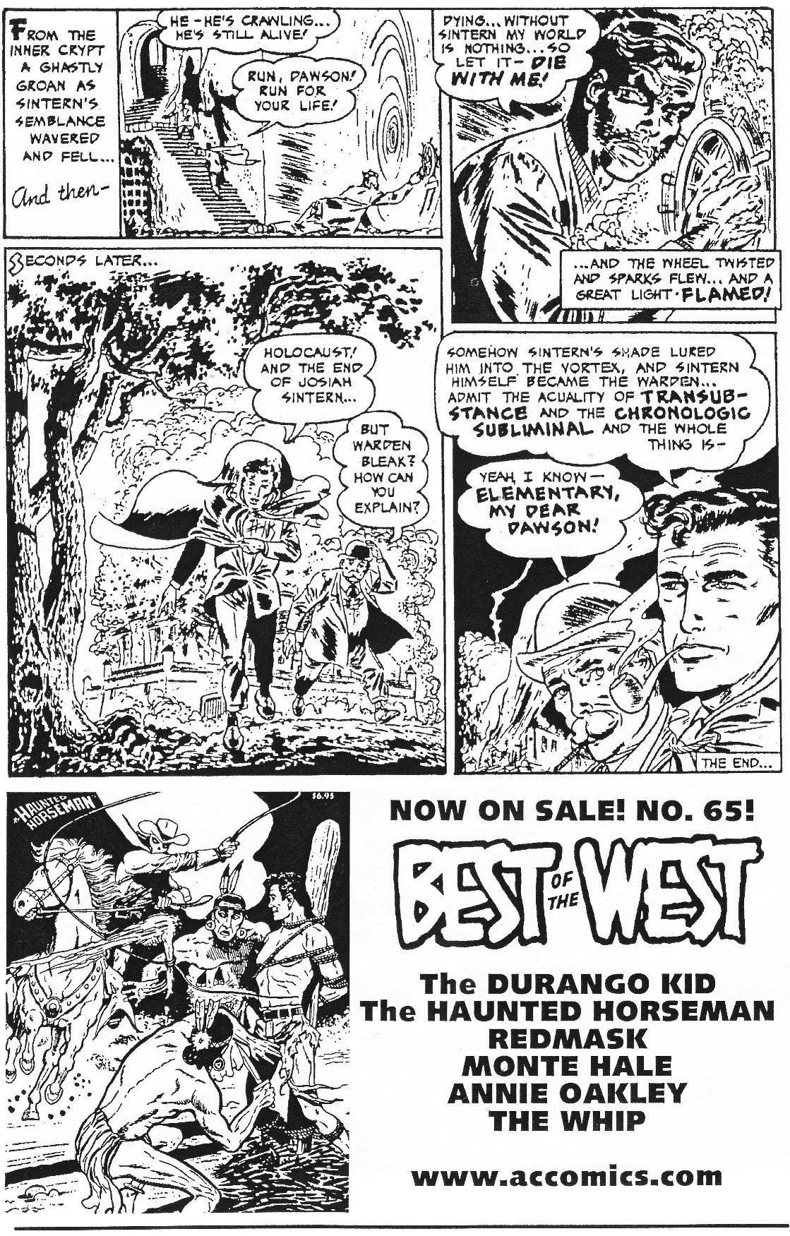 Read online Men of Mystery Comics comic -  Issue #70 - 50
