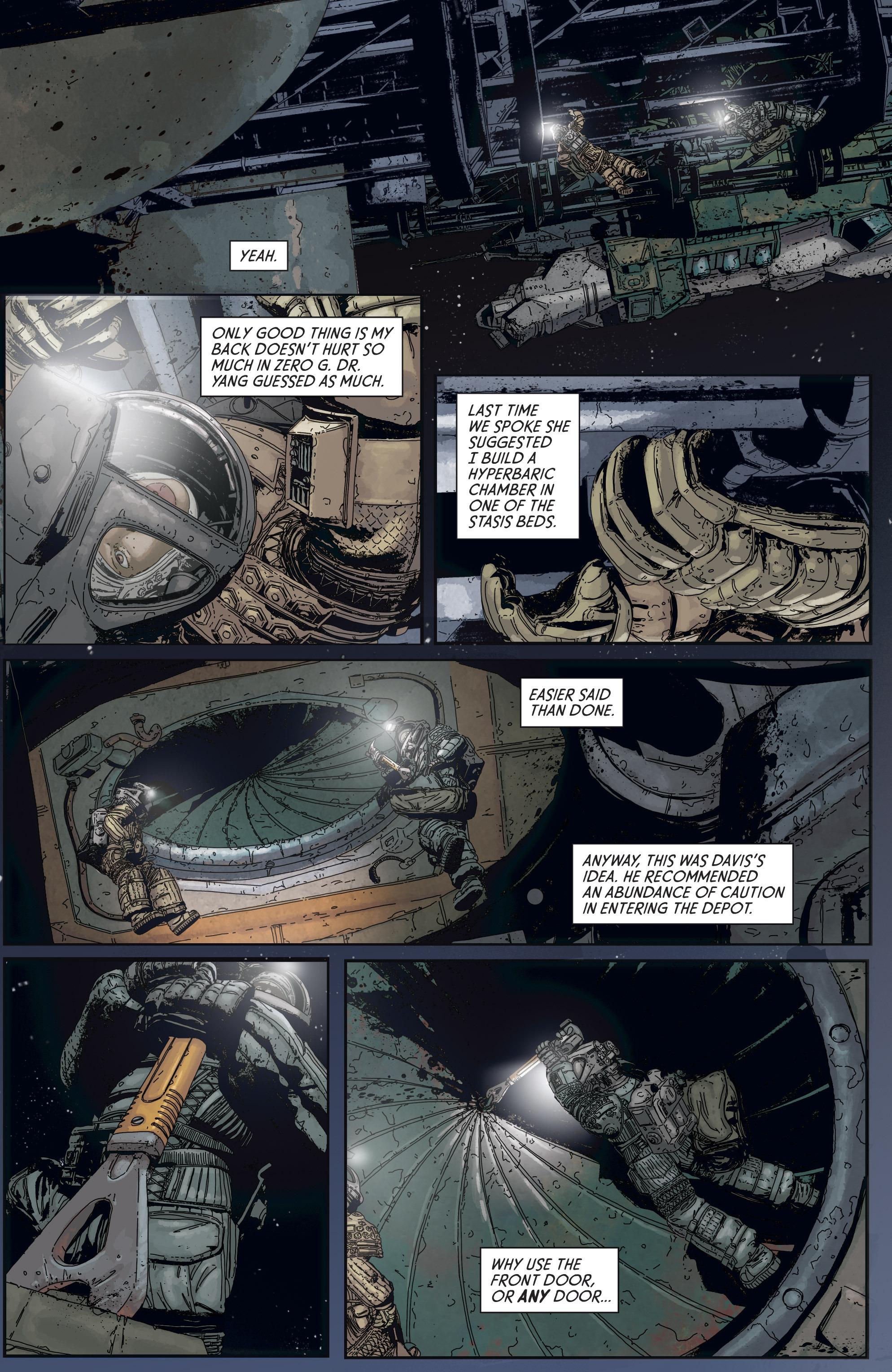 Read online Aliens: Defiance comic -  Issue #5 - 9