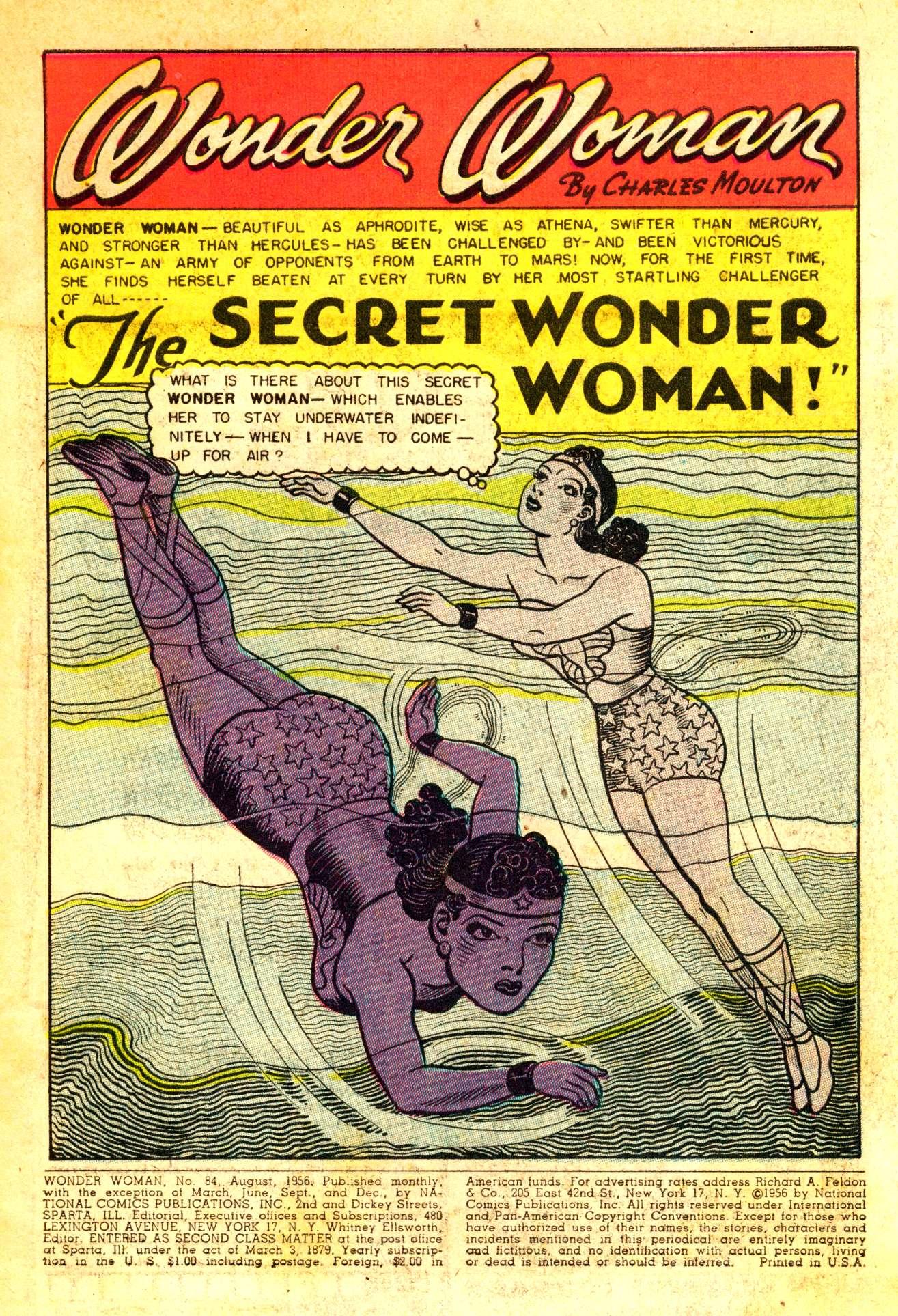 Read online Wonder Woman (1942) comic -  Issue #84 - 4
