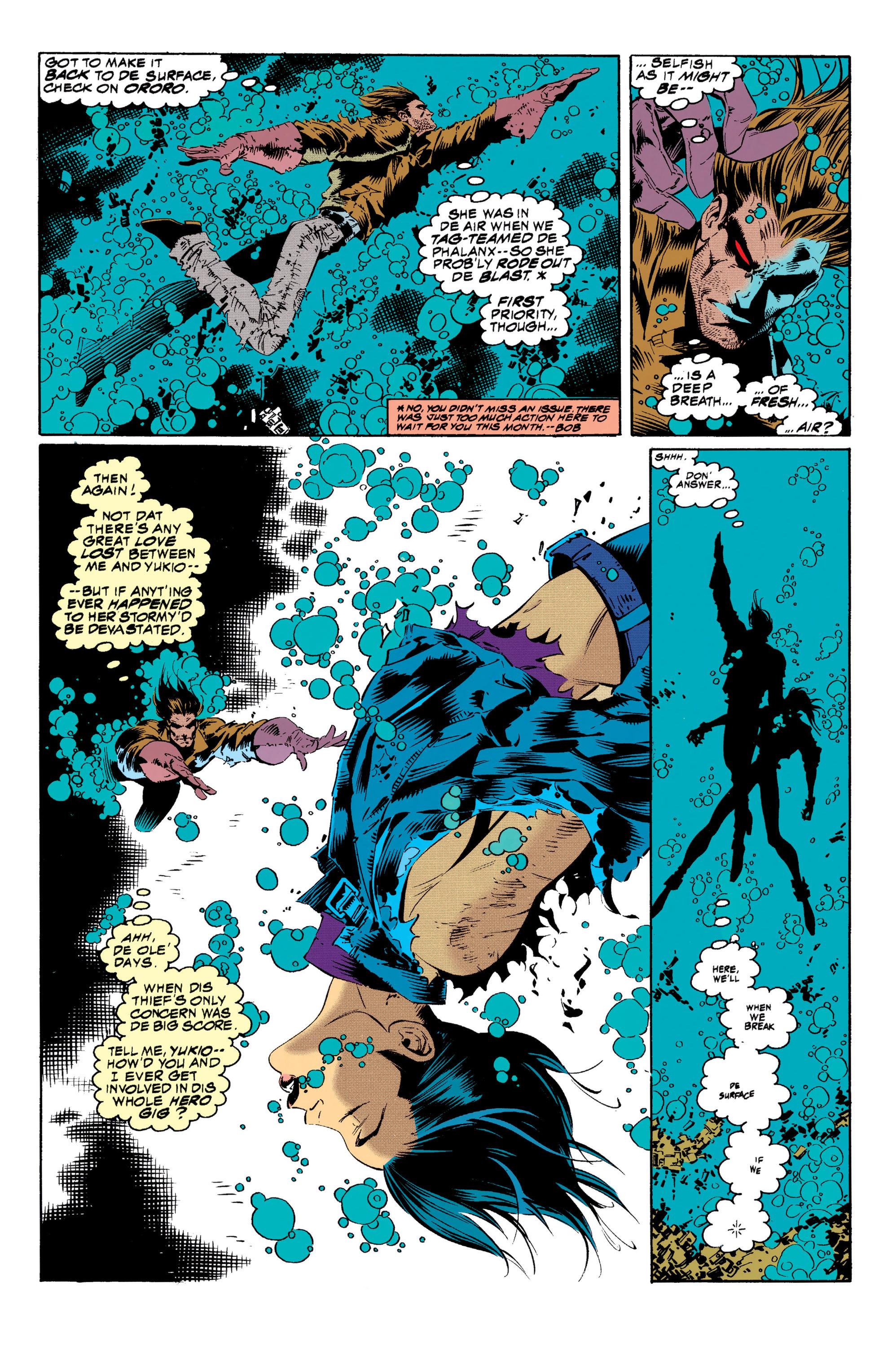 Read online Uncanny X-Men (1963) comic -  Issue #313 - 5