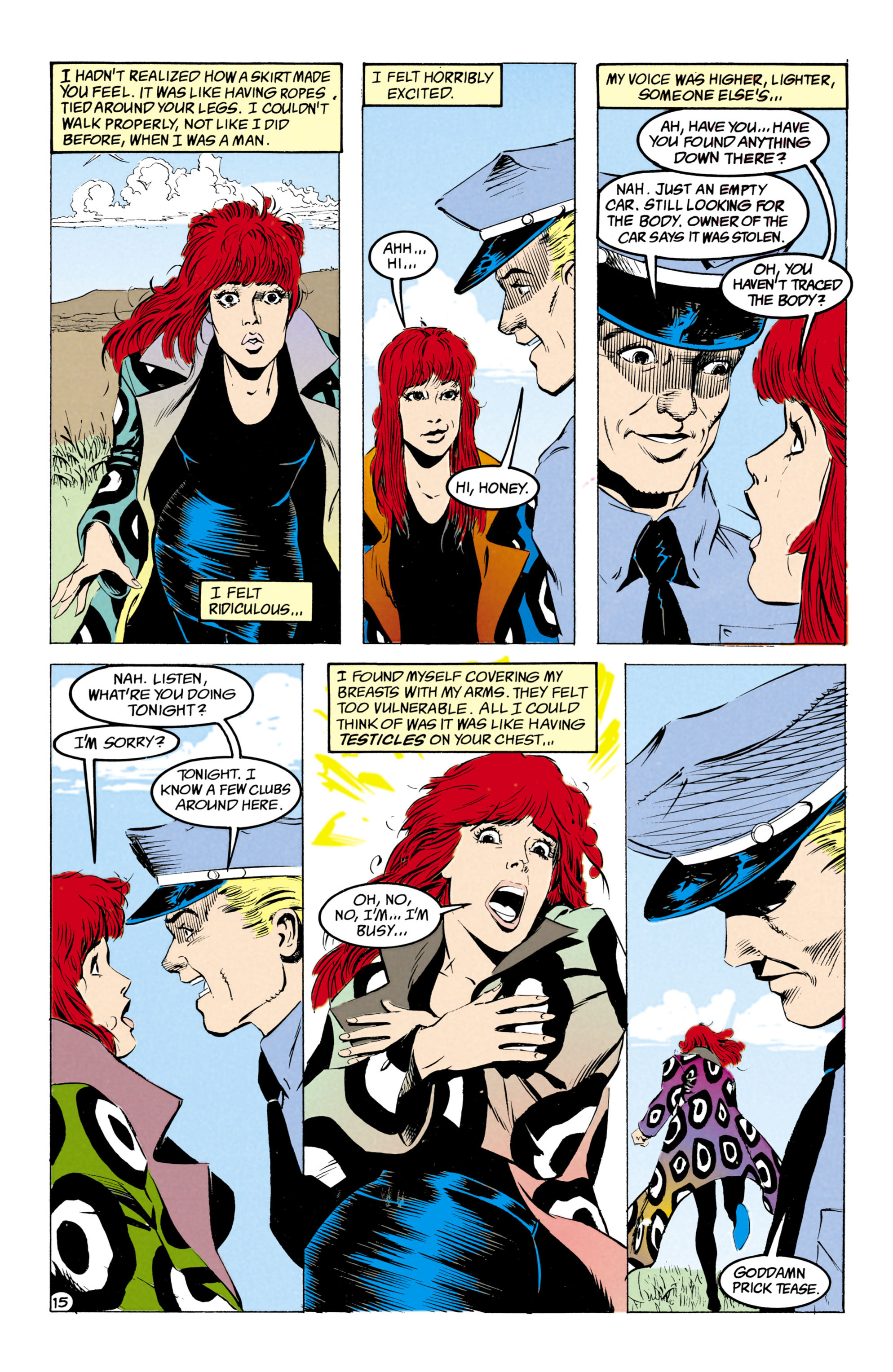 Read online Shade, the Changing Man comic -  Issue #27 - 16