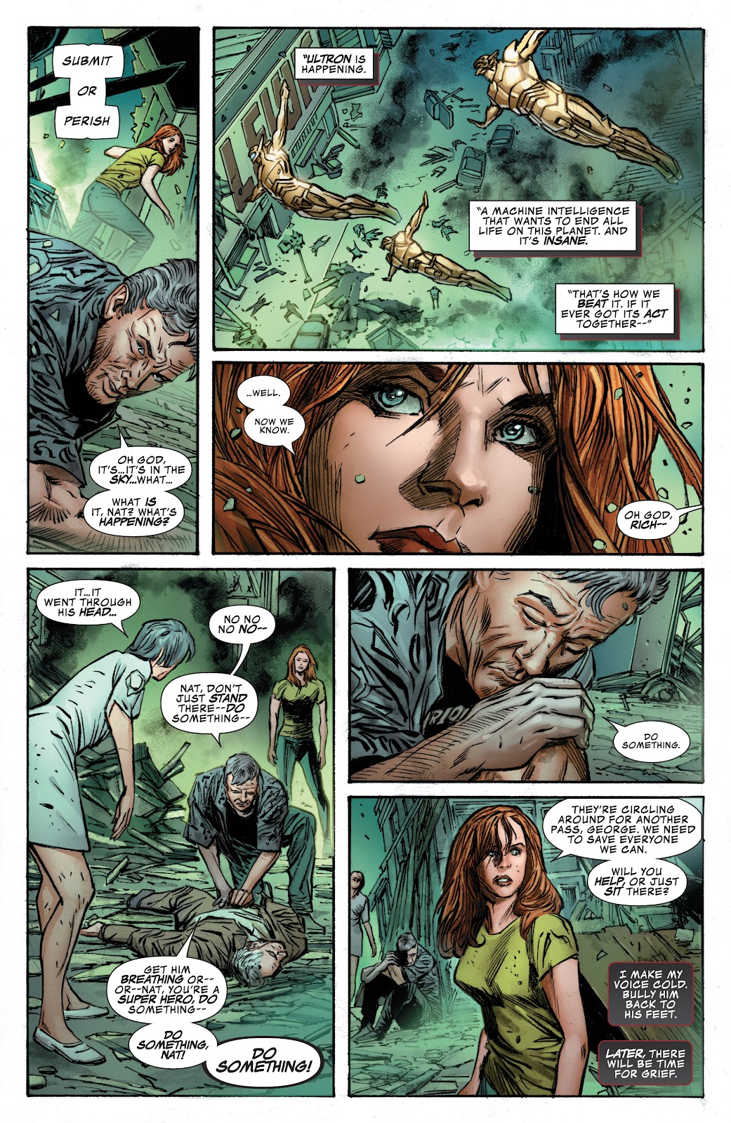 Read online Age of Ultron Companion comic -  Issue # TPB (Part 1) - 13