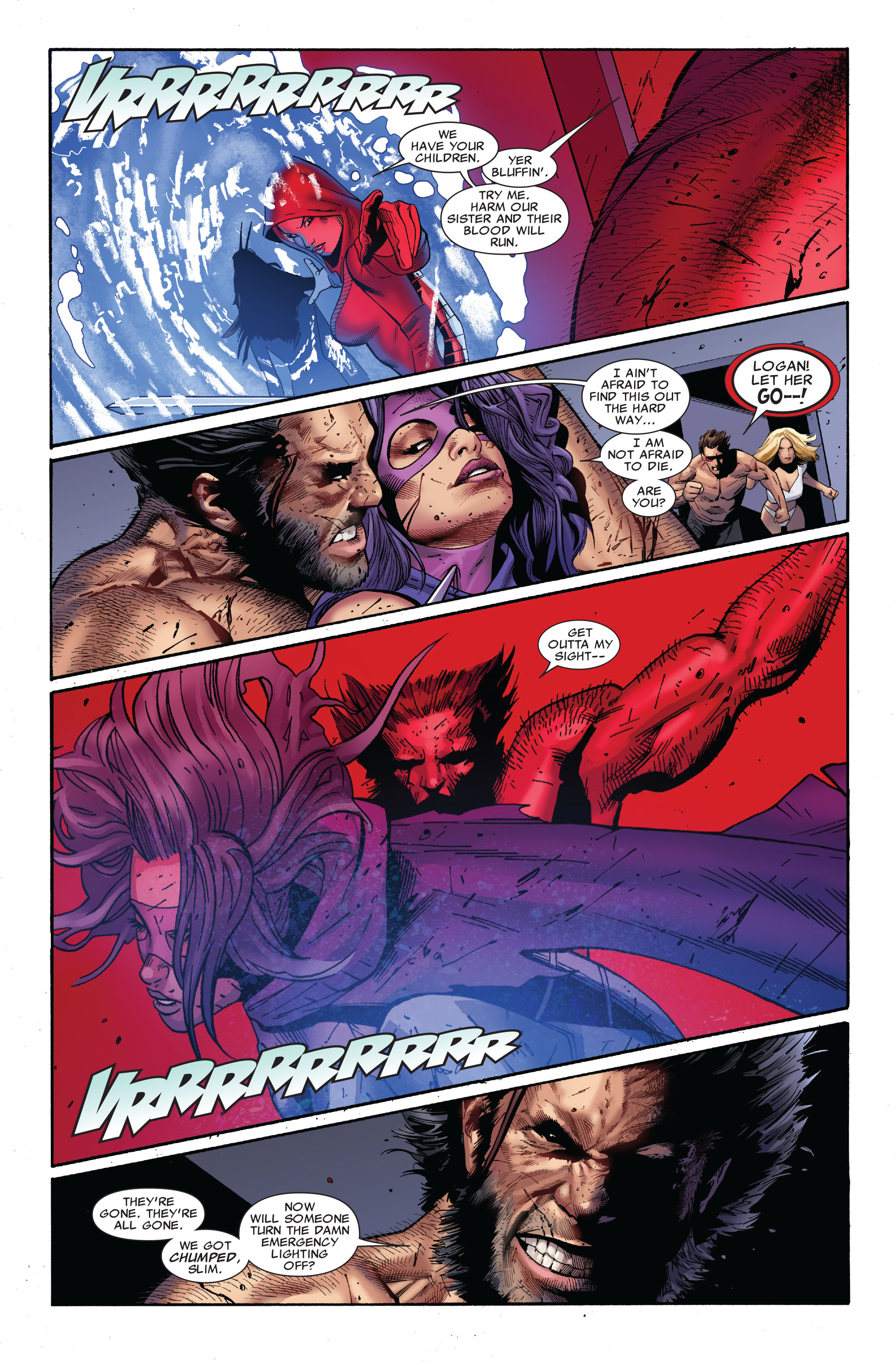 Read online Uncanny X-Men (1963) comic -  Issue #510 - 24