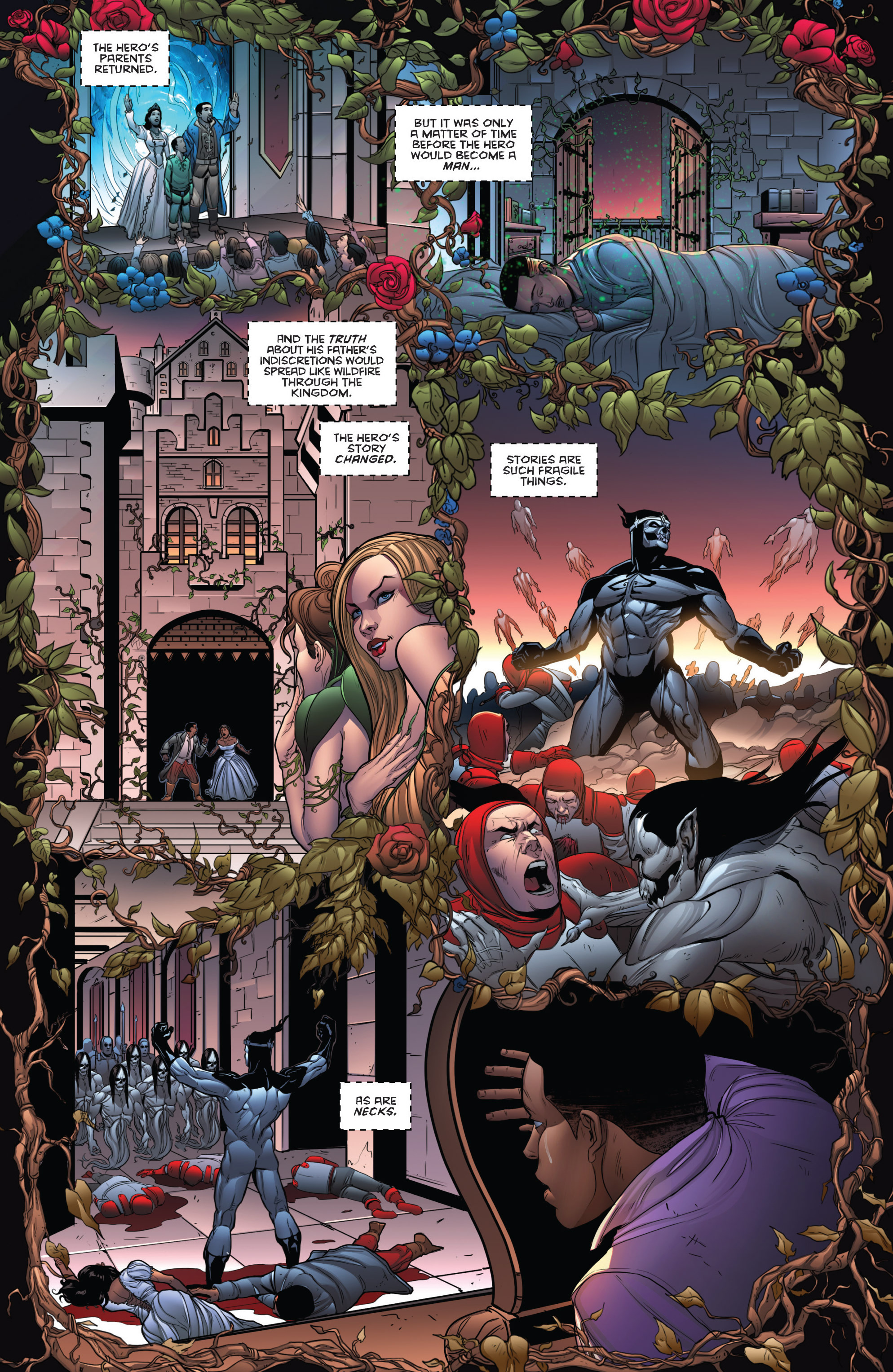 Read online Grimm Fairy Tales: Arcane Acre comic -  Issue # TPB 3 - 57