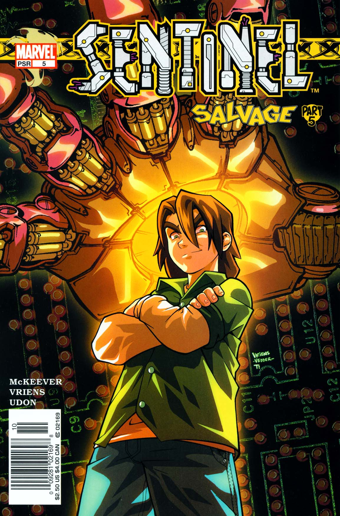 Read online Sentinel comic -  Issue #5 - 2