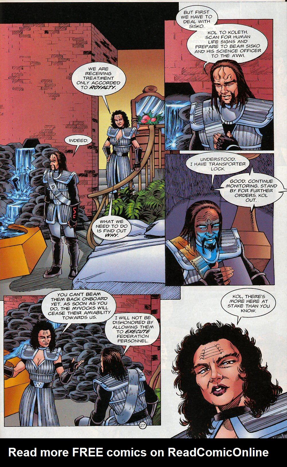 Read online Star Trek: Deep Space Nine - Lightstorm comic -  Issue # Full - 27