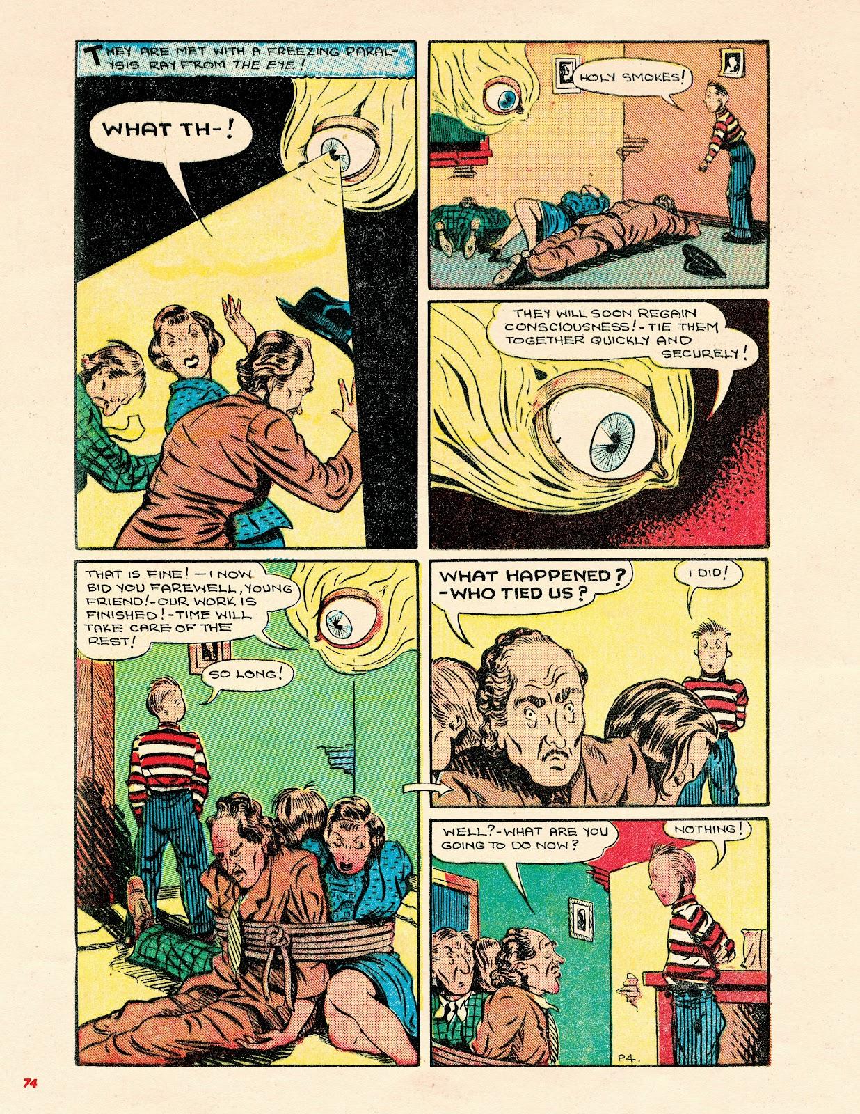 Read online Super Weird Heroes comic -  Issue # TPB 2 (Part 1) - 74