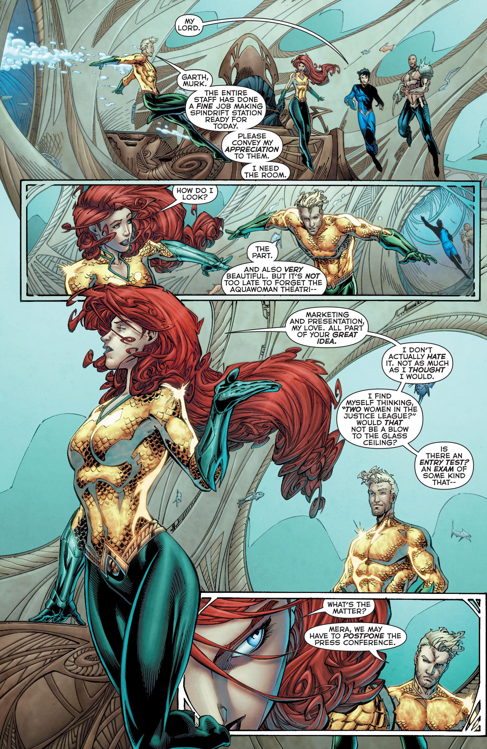 Read online Aquaman (2011) comic -  Issue #50 - 9