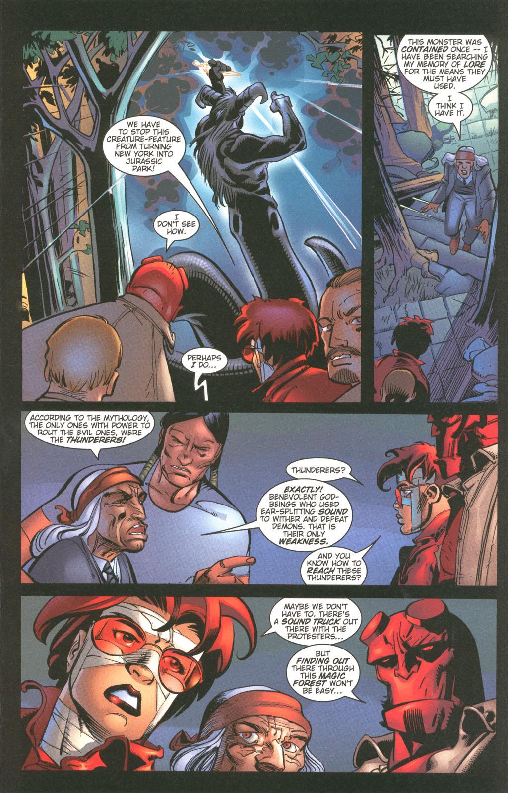 Read online Painkiller Jane/Hellboy comic -  Issue # Full - 17