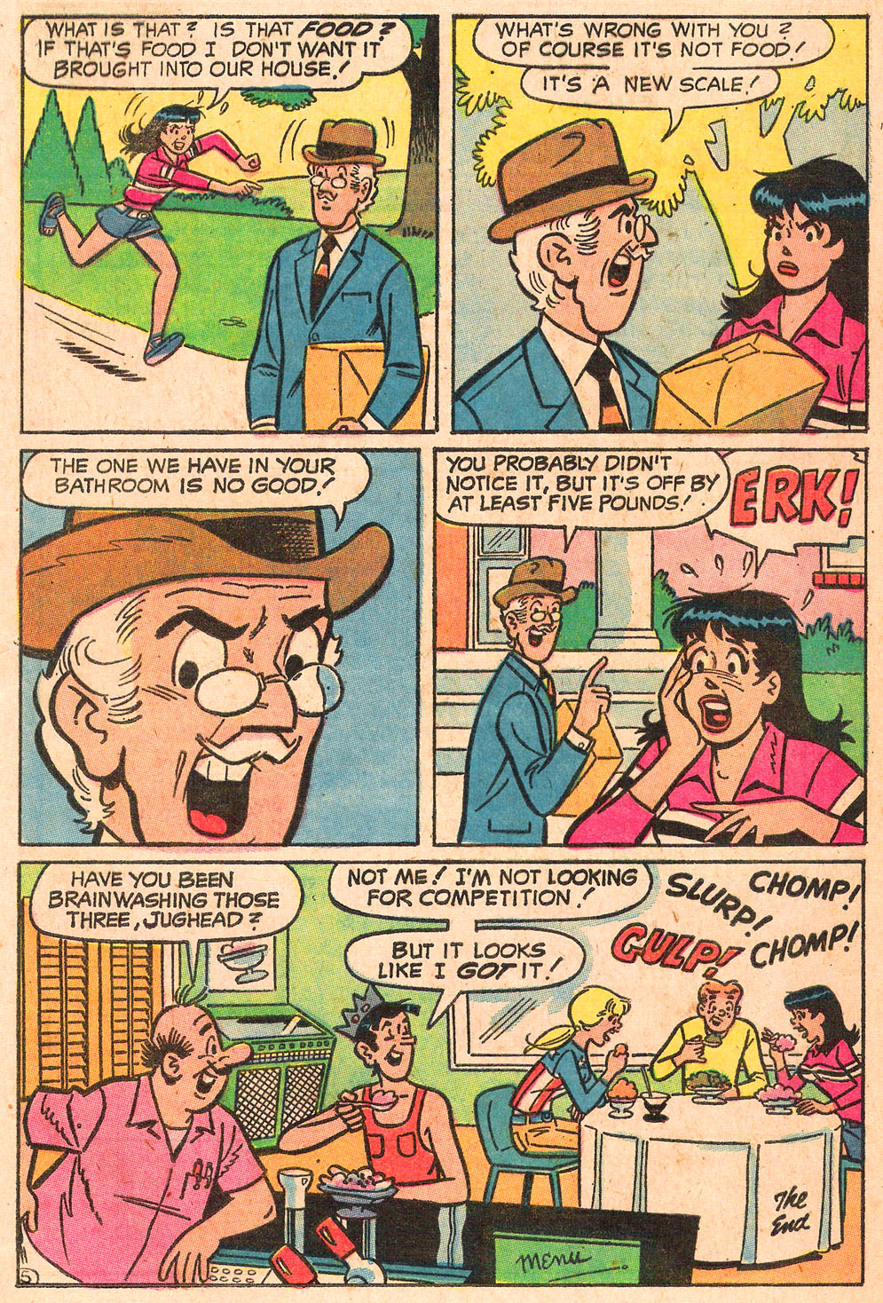 Read online Archie's Girls Betty and Veronica comic -  Issue #189 - 17