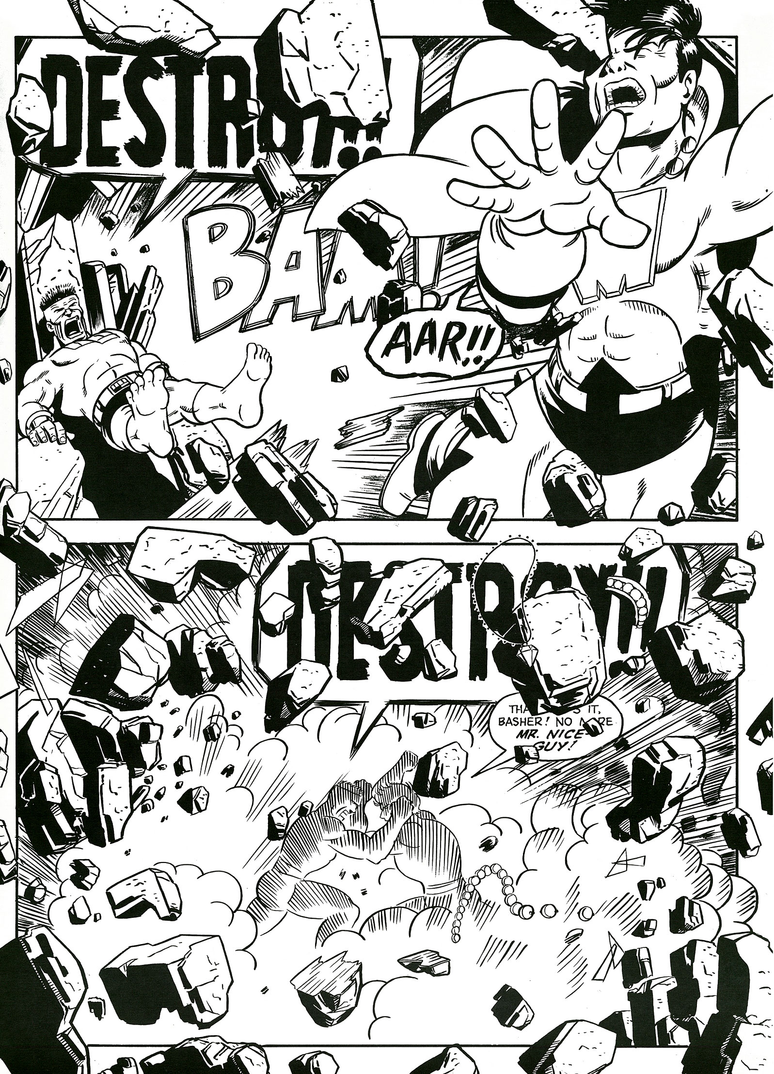 Read online Destroy!! comic -  Issue # Full - 19