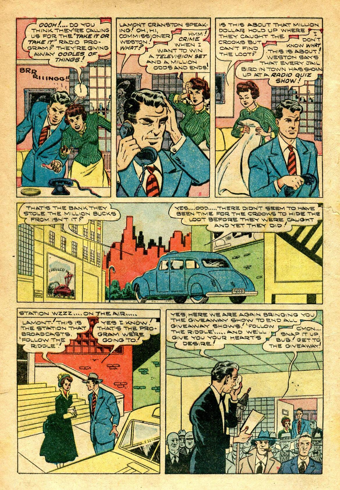 Read online Shadow Comics comic -  Issue #96 - 4