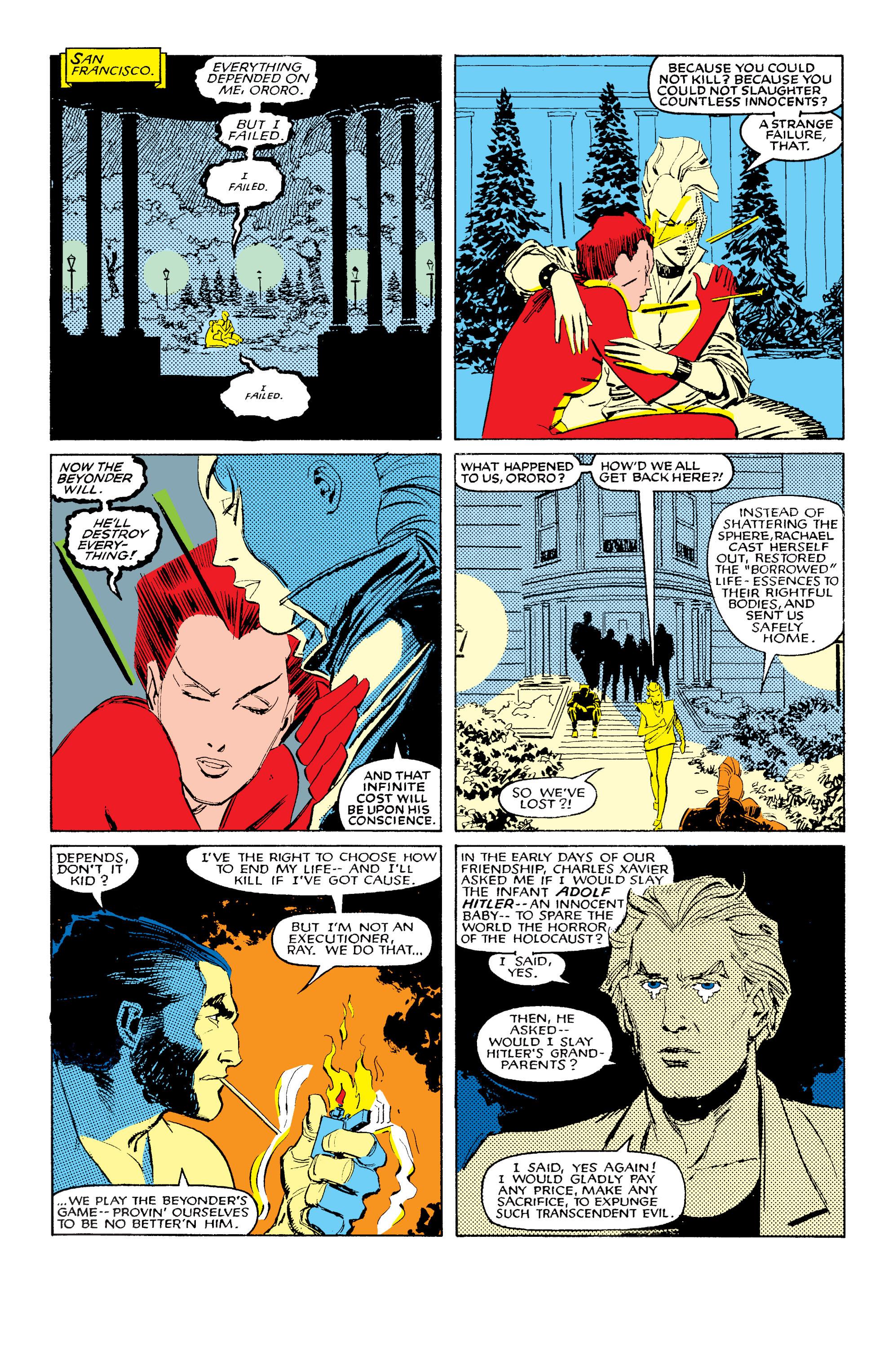 Read online Uncanny X-Men (1963) comic -  Issue #203 - 17