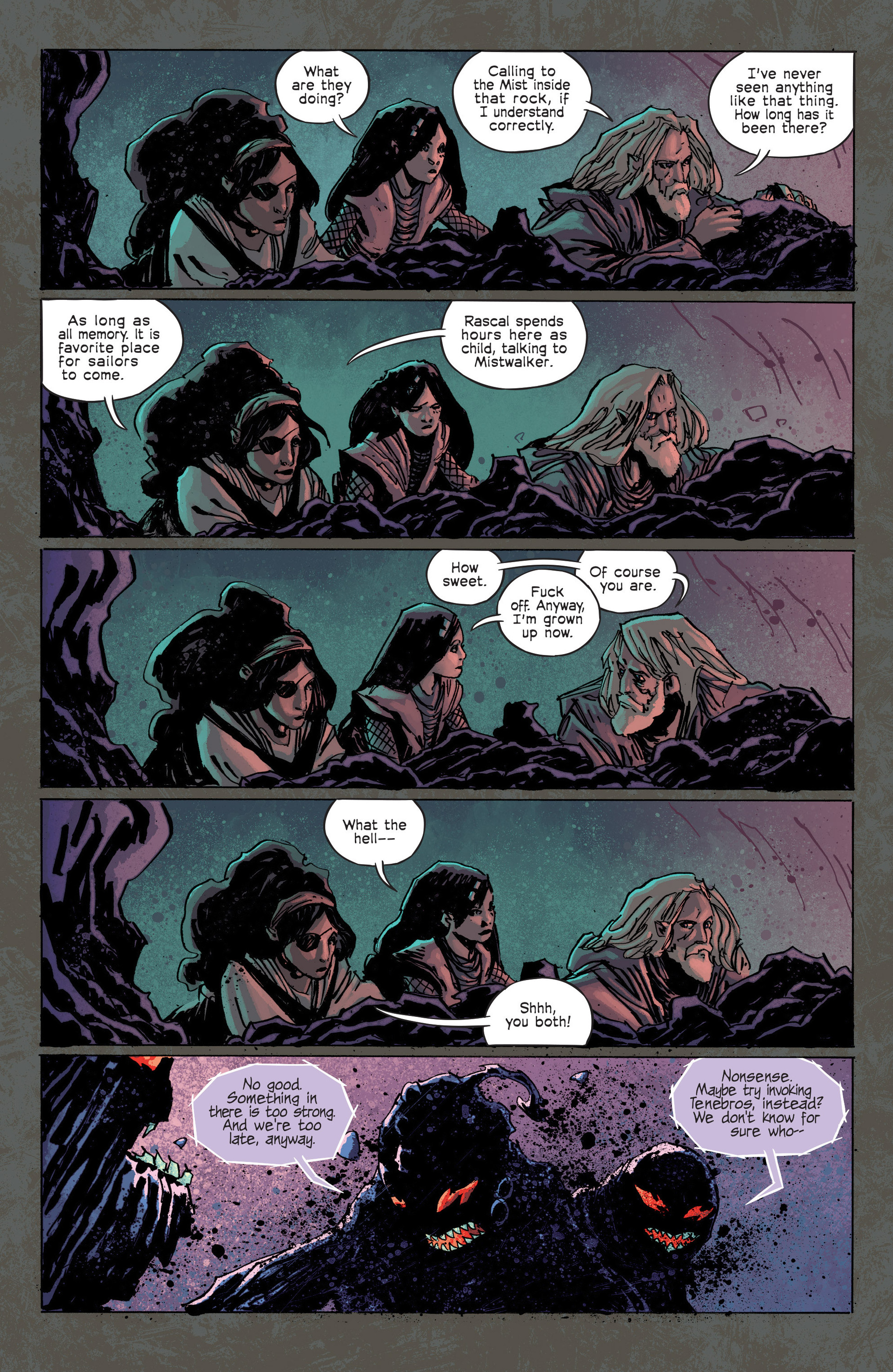 Read online Umbral comic -  Issue #3 - 20