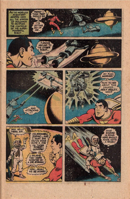 Read online Shazam! (1973) comic -  Issue #20 - 23