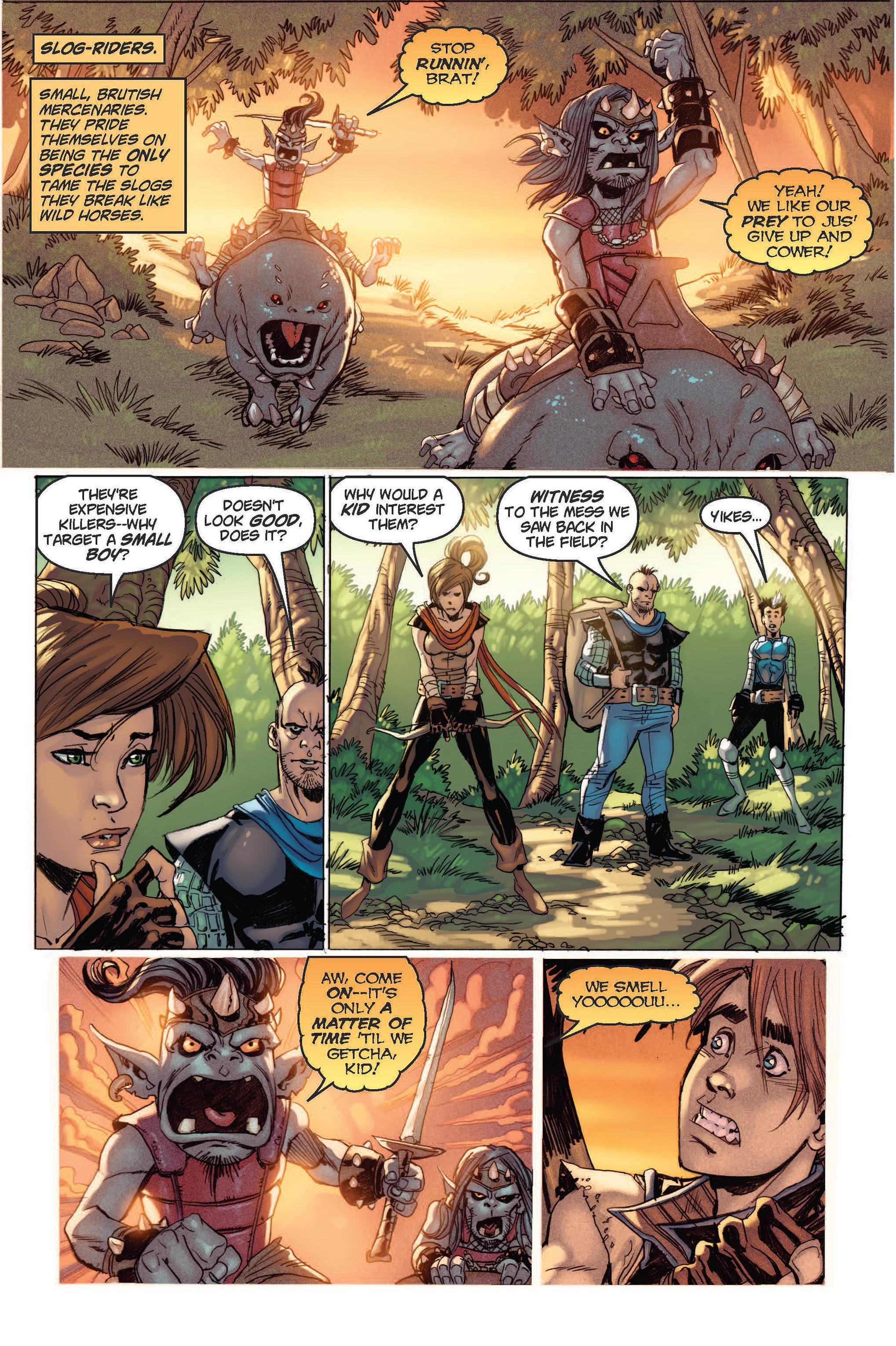 Read online Skyward comic -  Issue #2 - 15
