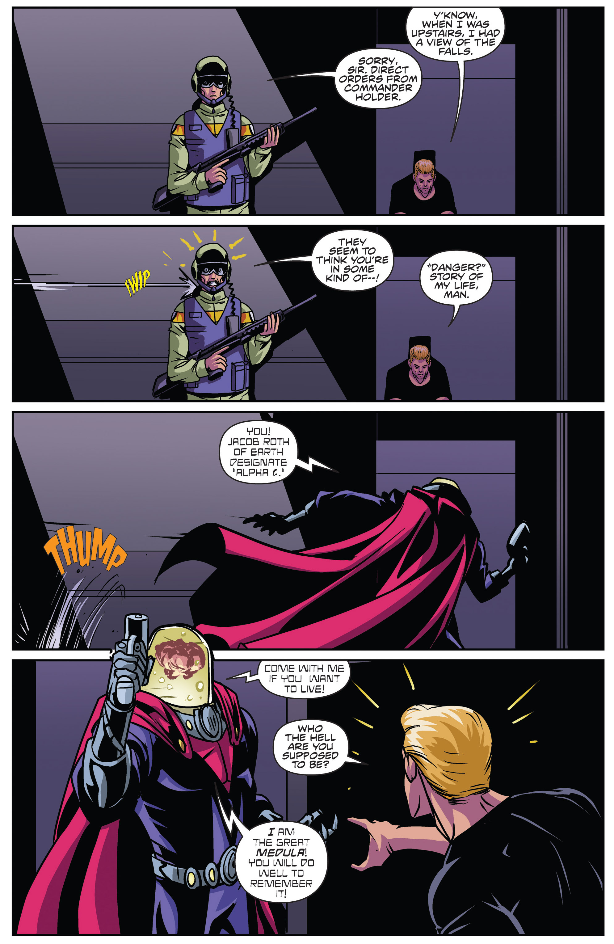 Read online Actionverse comic -  Issue #4 - 22