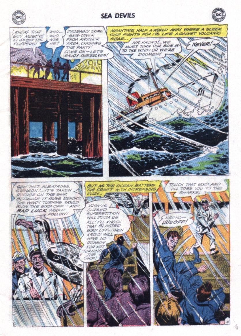 Read online Sea Devils comic -  Issue #23 - 5