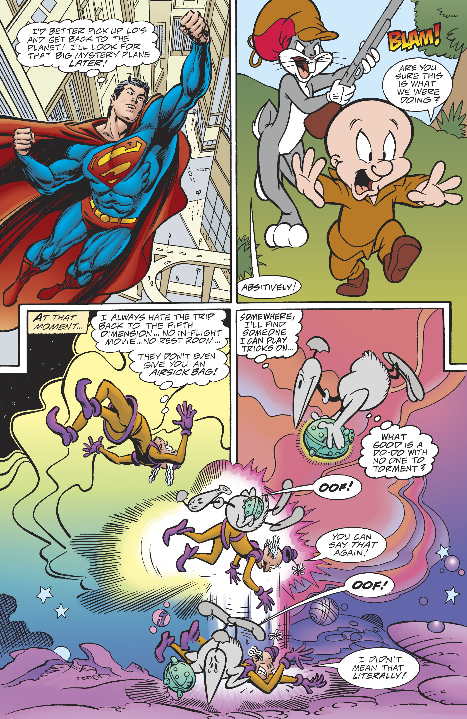 Read online DC/Looney Tunes 100-Page Super Spectacular comic -  Issue # Full - 13