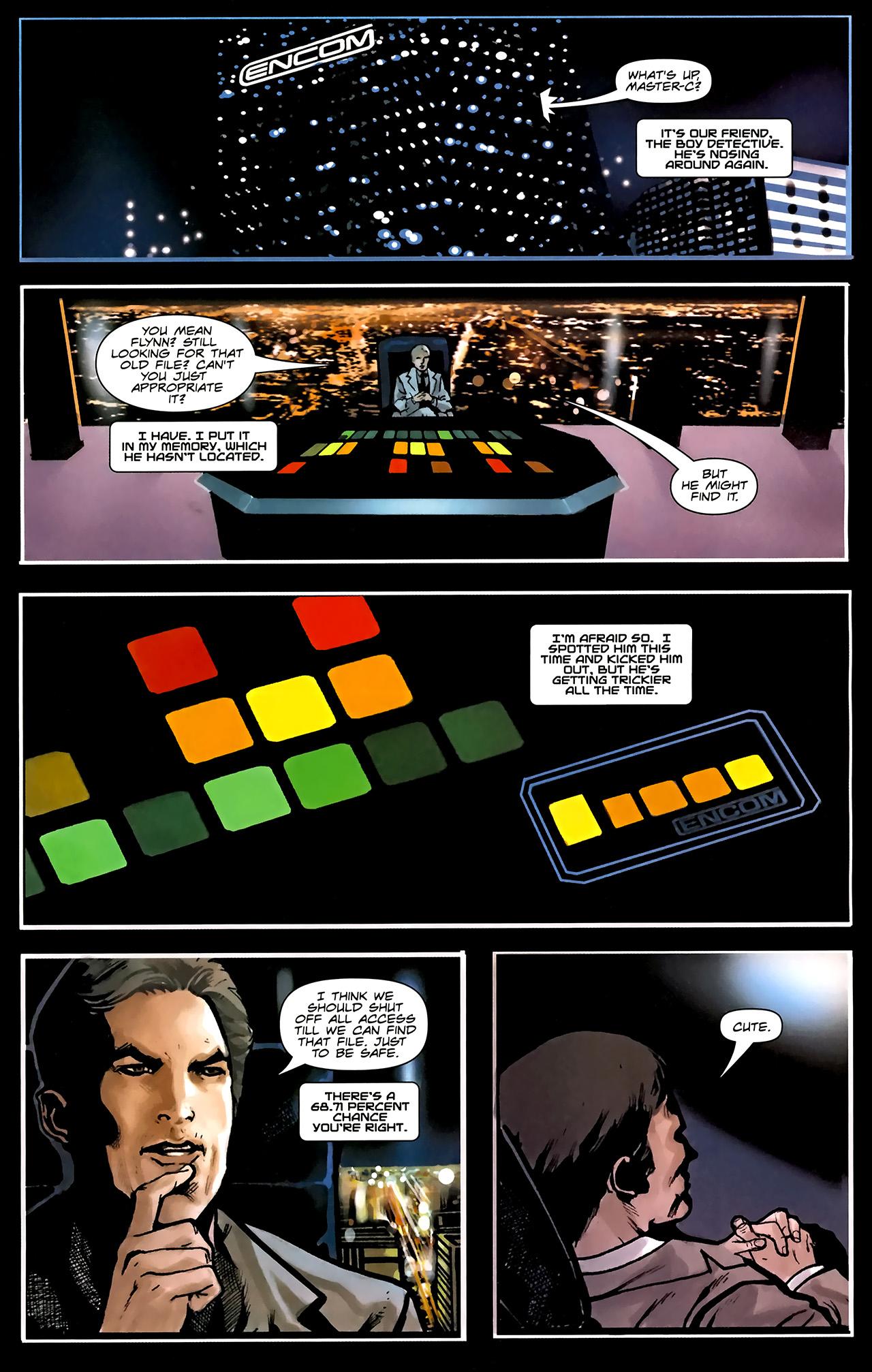 Read online TRON: Original Movie Adaptation comic -  Issue #1 - 15