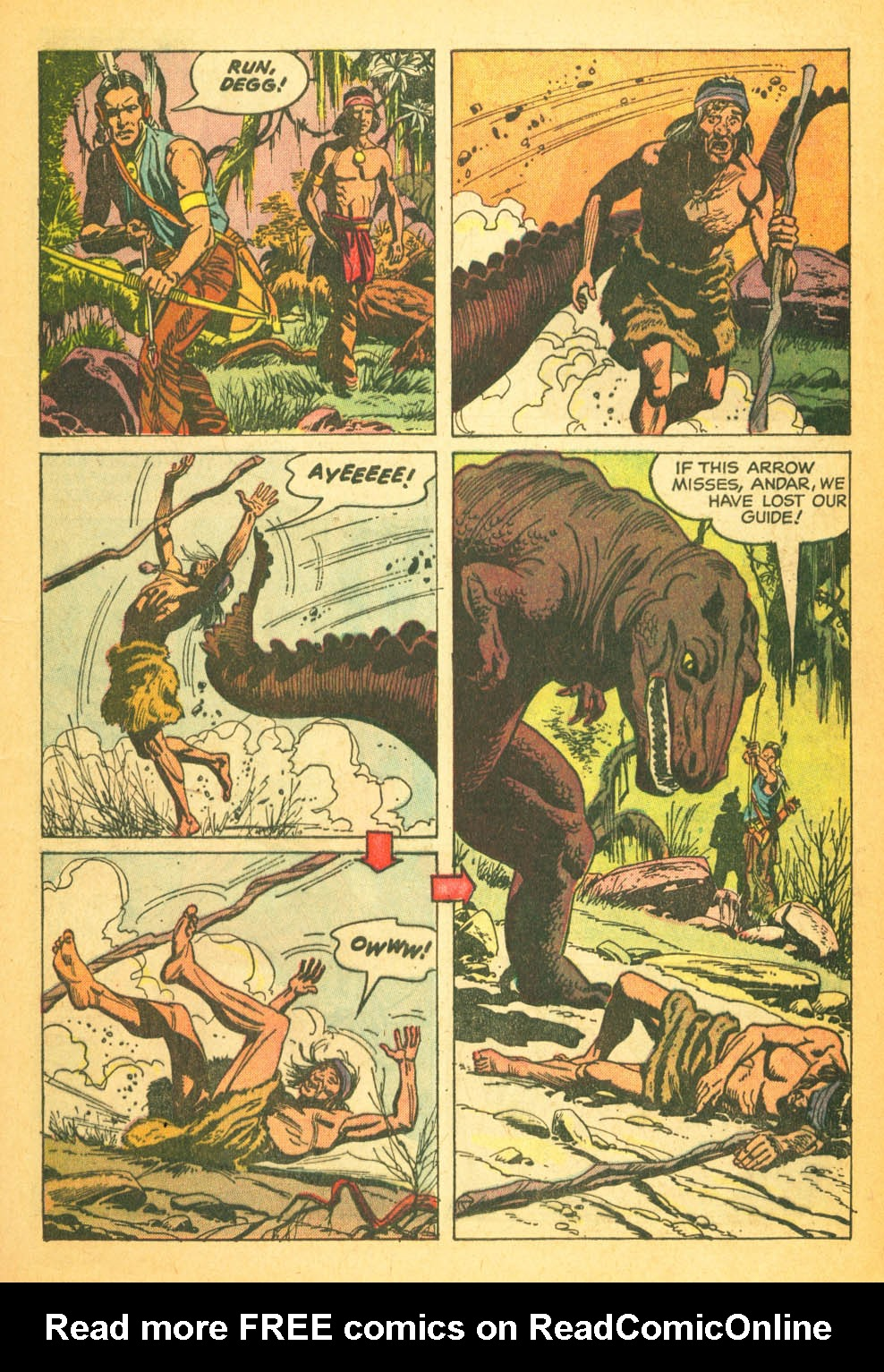 Read online Turok, Son of Stone comic -  Issue #27 - 13