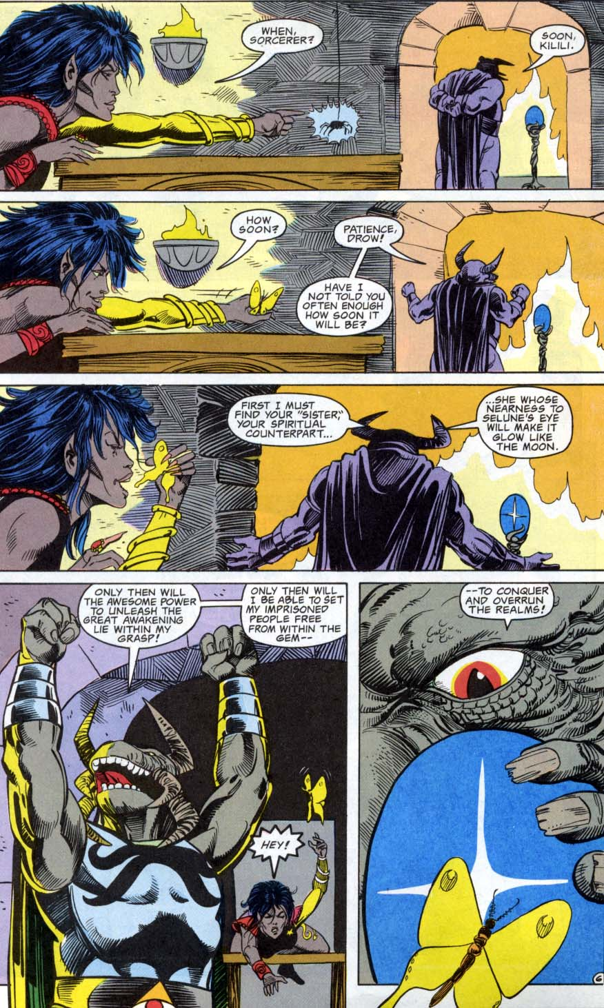 Read online Advanced Dungeons & Dragons comic -  Issue #3 - 6