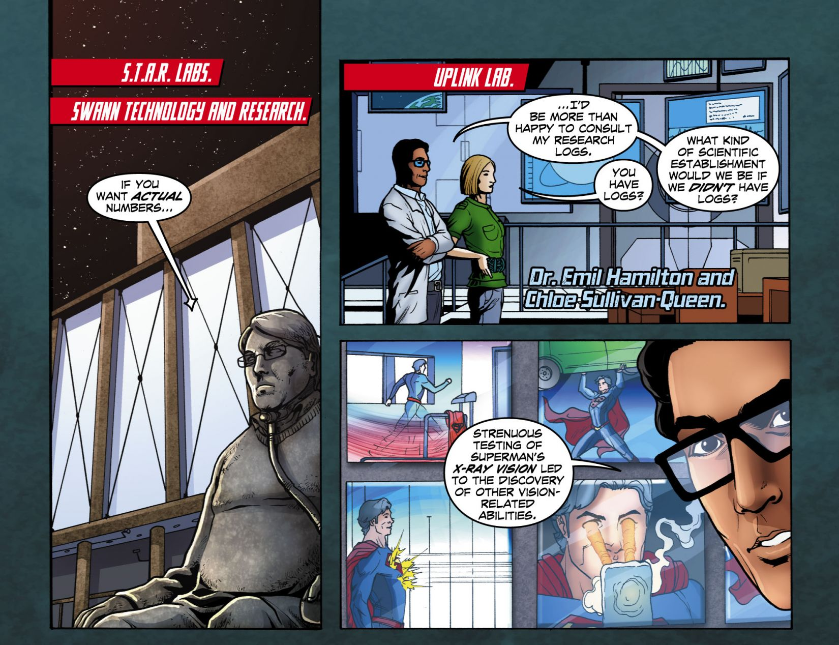 Read online Smallville: Season 11 comic -  Issue #4 - 11