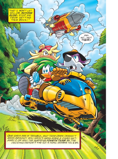 Read online Sonic Comics Spectacular: Speed of Sound comic -  Issue # Full - 166