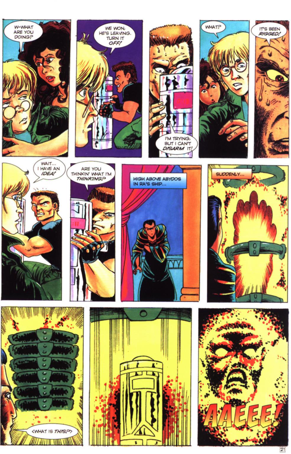 Read online Stargate comic -  Issue #4 - 23