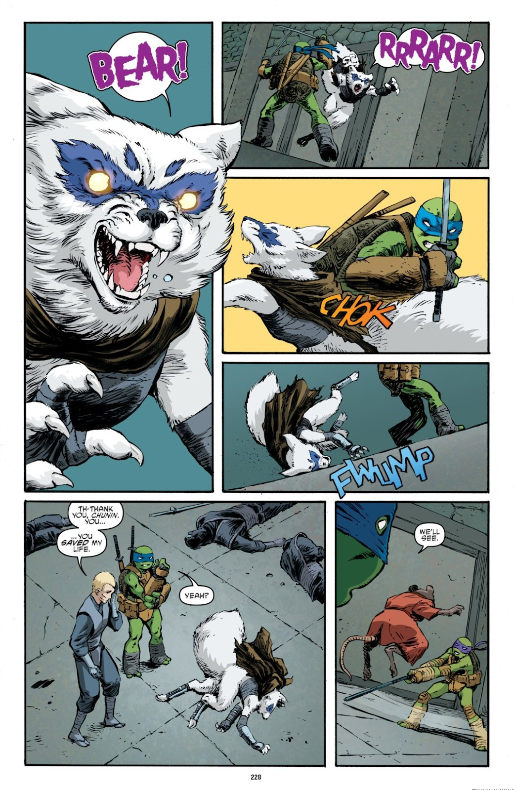 Read online Teenage Mutant Ninja Turtles: The IDW Collection comic -  Issue # TPB 7 (Part 3) - 20