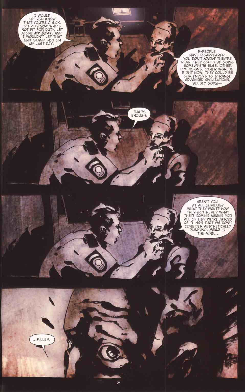 Read online Silent Hill: The Grinning Man comic -  Issue # Full - 29