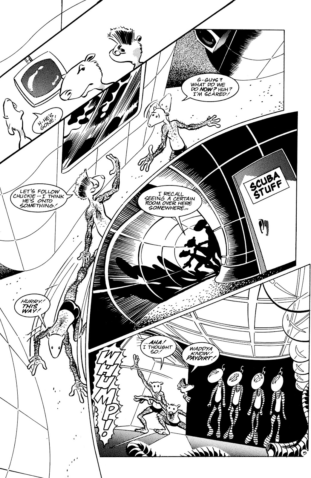 Adolescent Radioactive Black Belt Hamsters (1986) issue 8 - Page 6