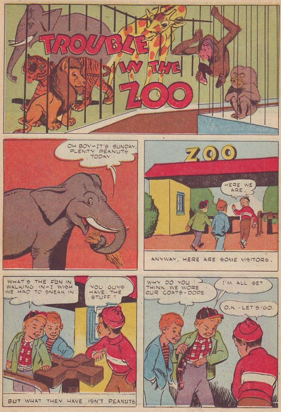 Read online Animal Comics comic -  Issue #20 - 32