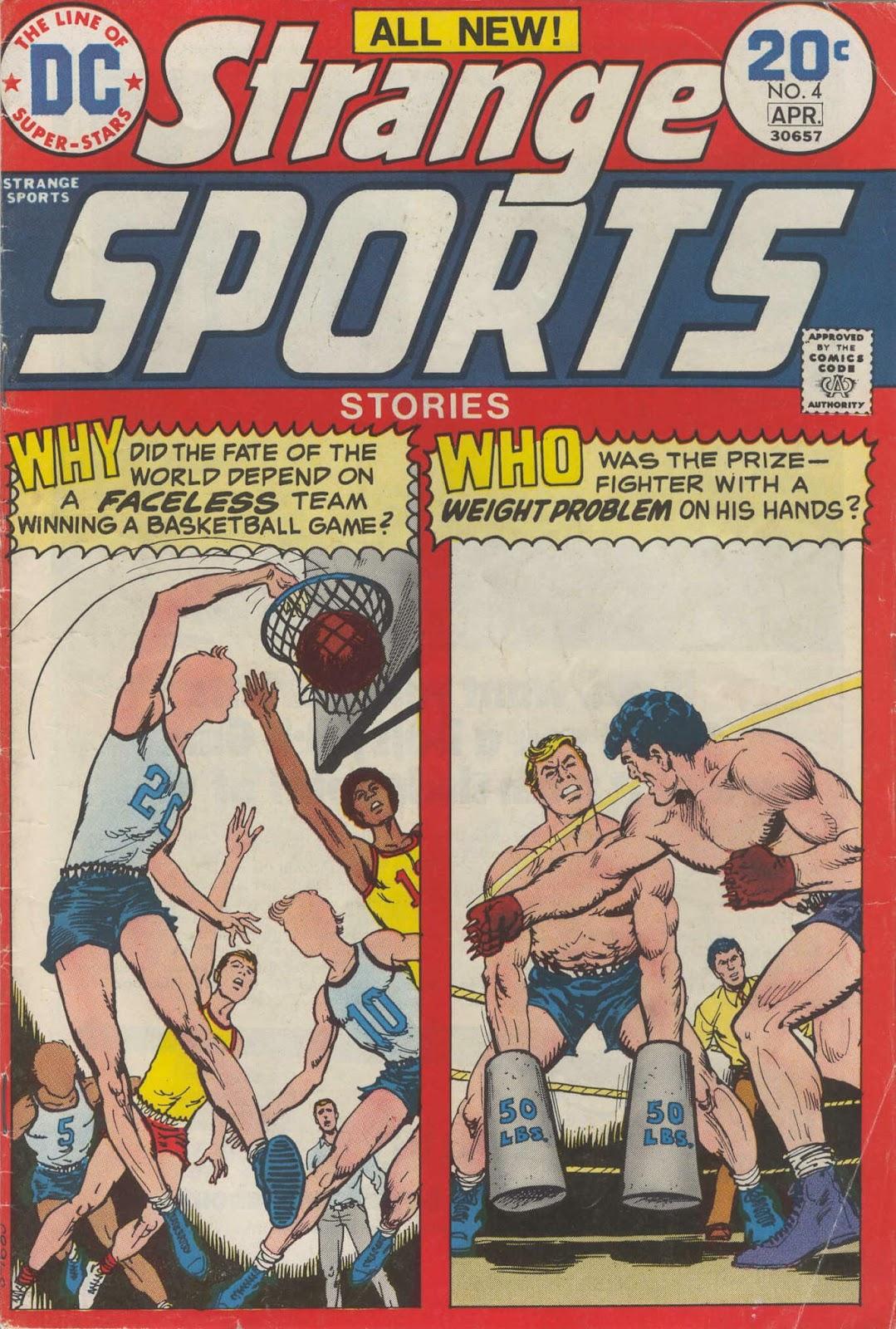 Strange Sports Stories (1973) 4 Page 1