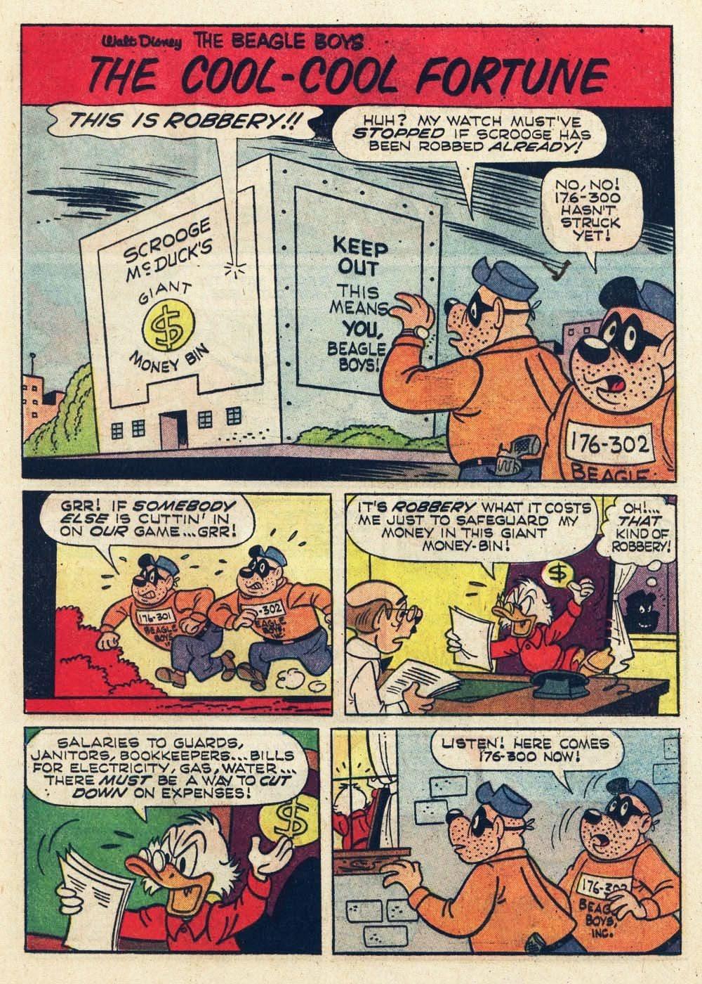 Walt Disney THE BEAGLE BOYS issue 6 - Page 13