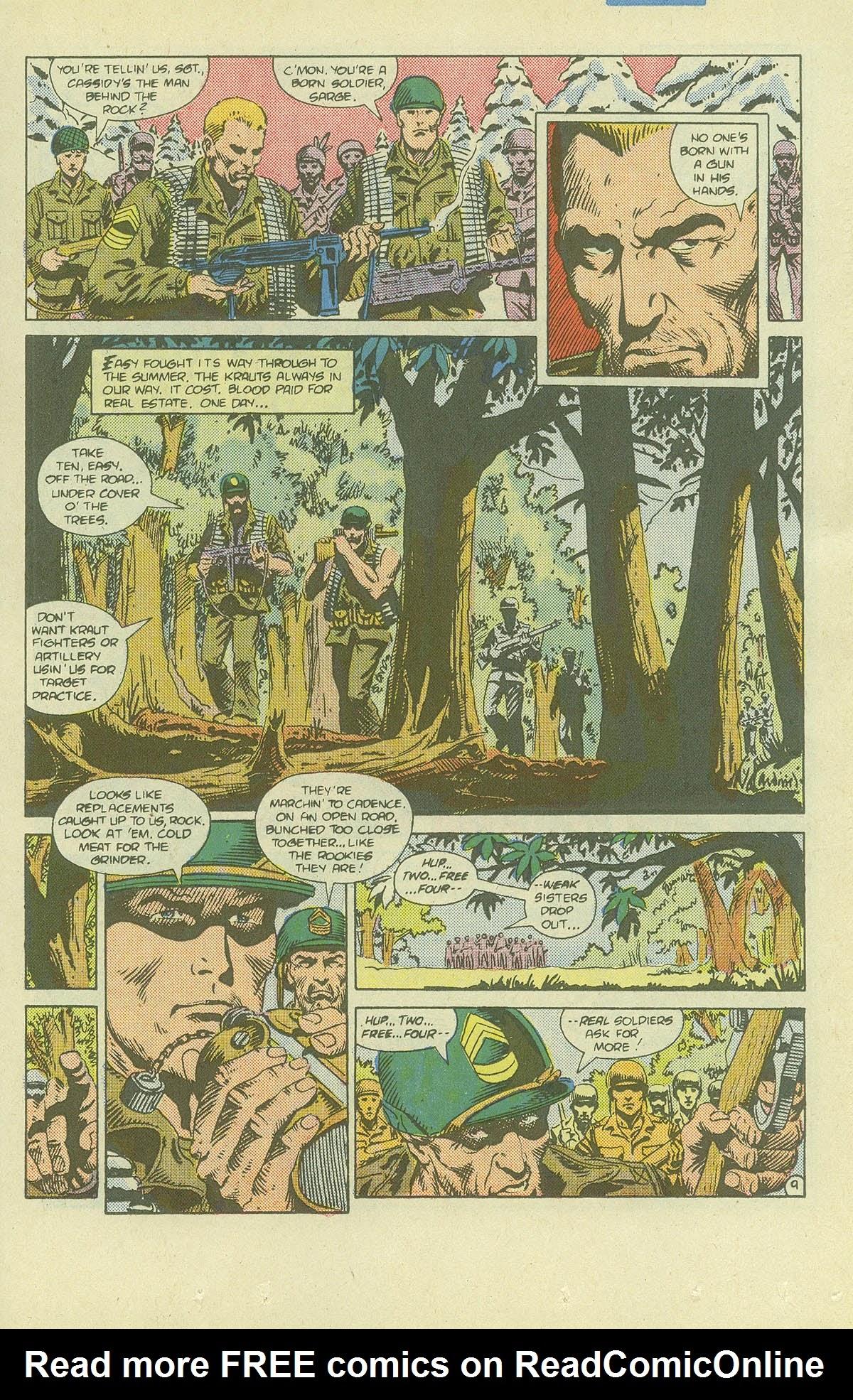 Read online Sgt. Rock comic -  Issue #411 - 14