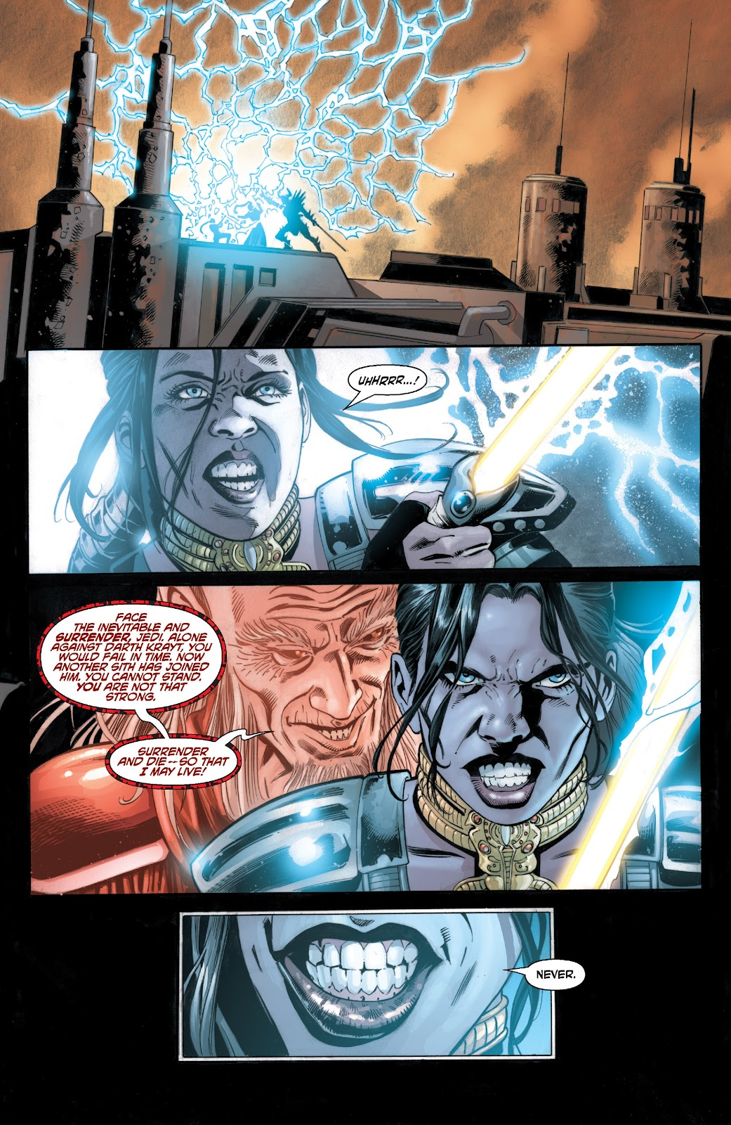 Read online Star Wars Legends: Legacy - Epic Collection comic -  Issue # TPB 2 (Part 3) - 76
