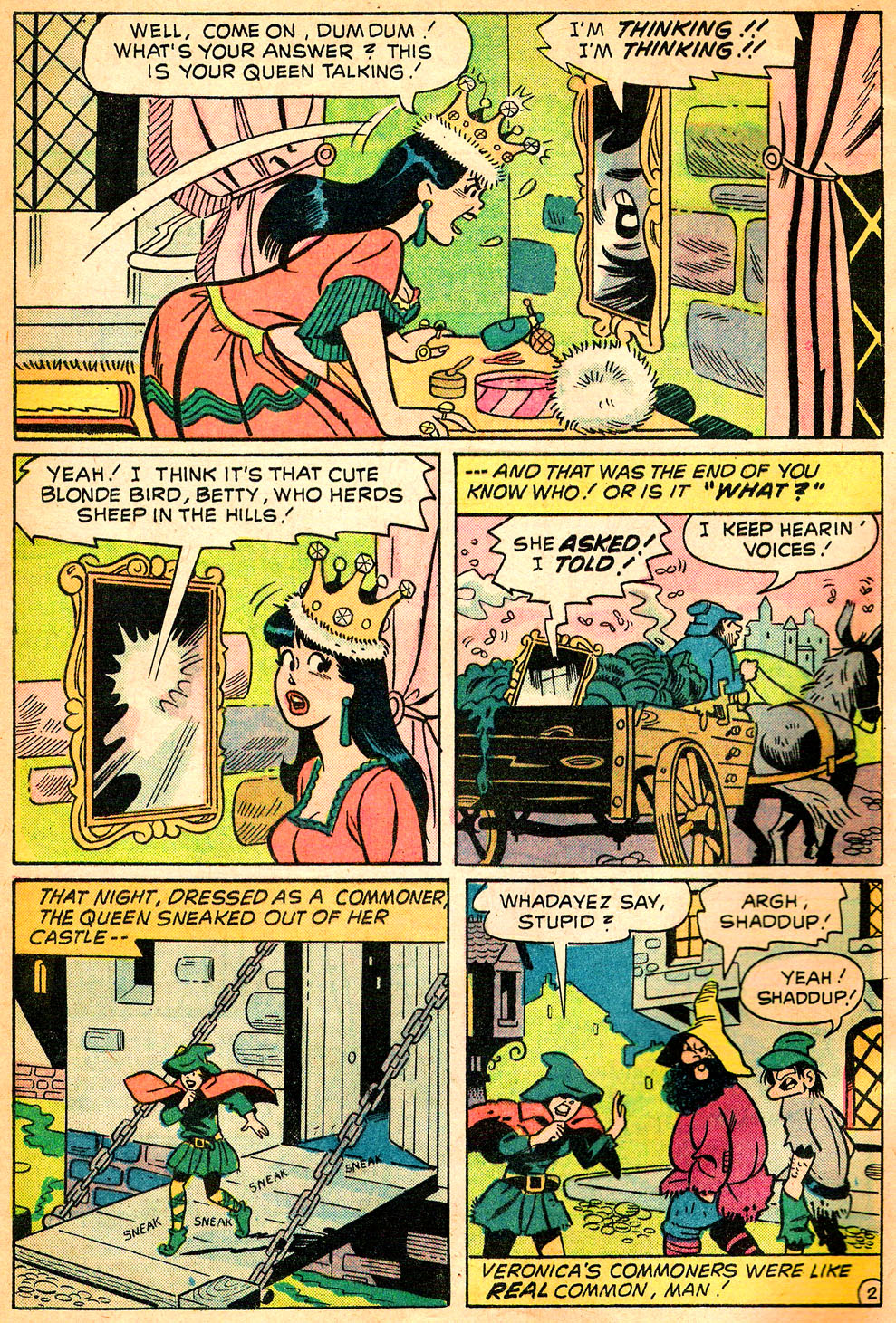 Read online Archie's Girls Betty and Veronica comic -  Issue #218 - 4