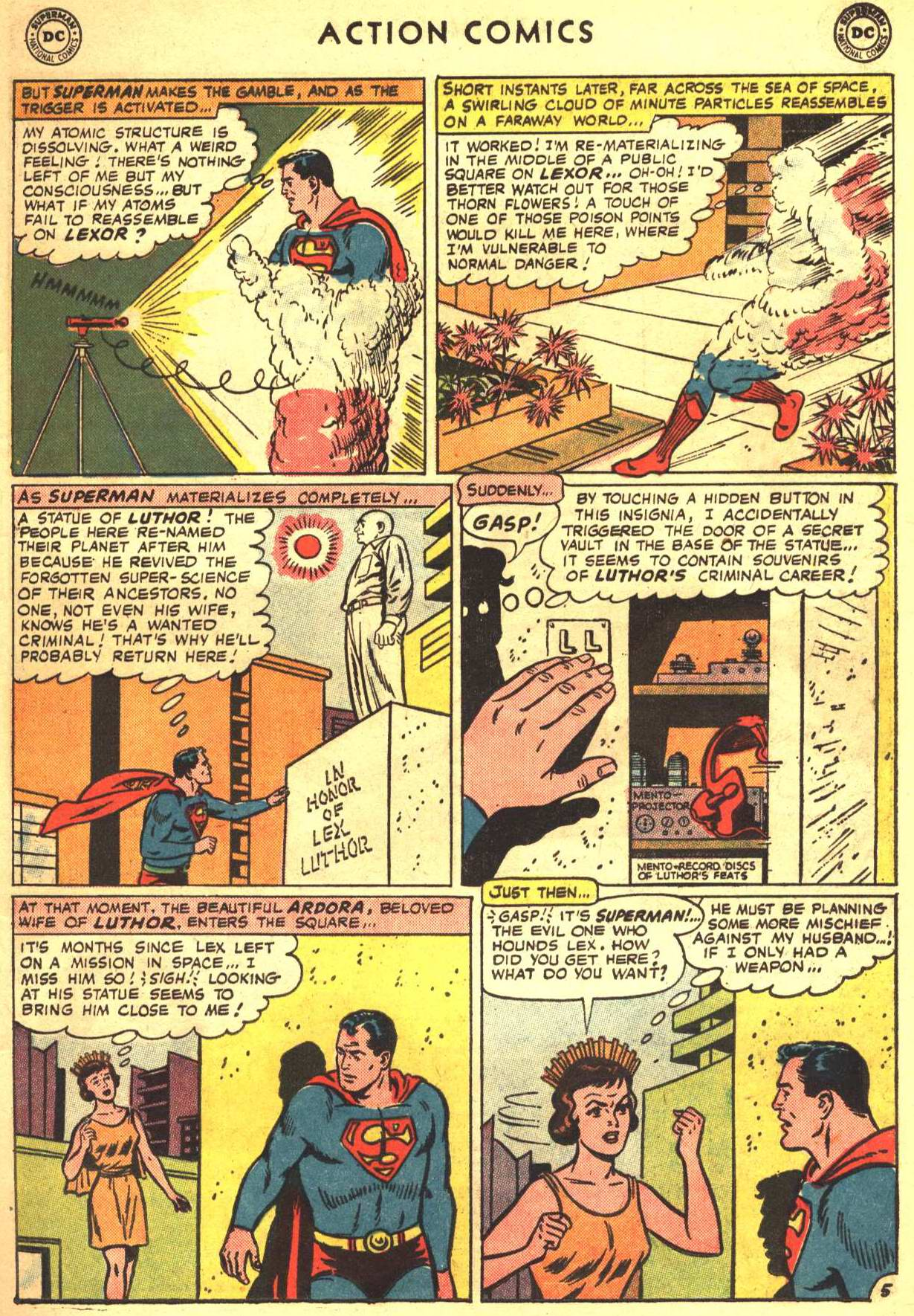 Read online Action Comics (1938) comic -  Issue #332 - 7