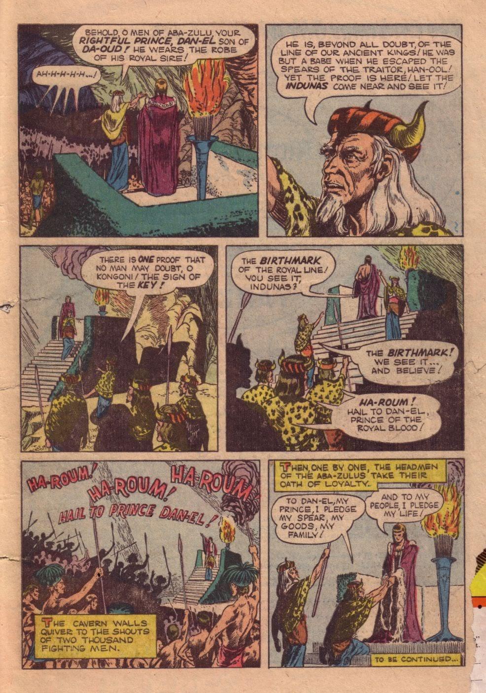 Tarzan (1948) issue 40 - Page 49