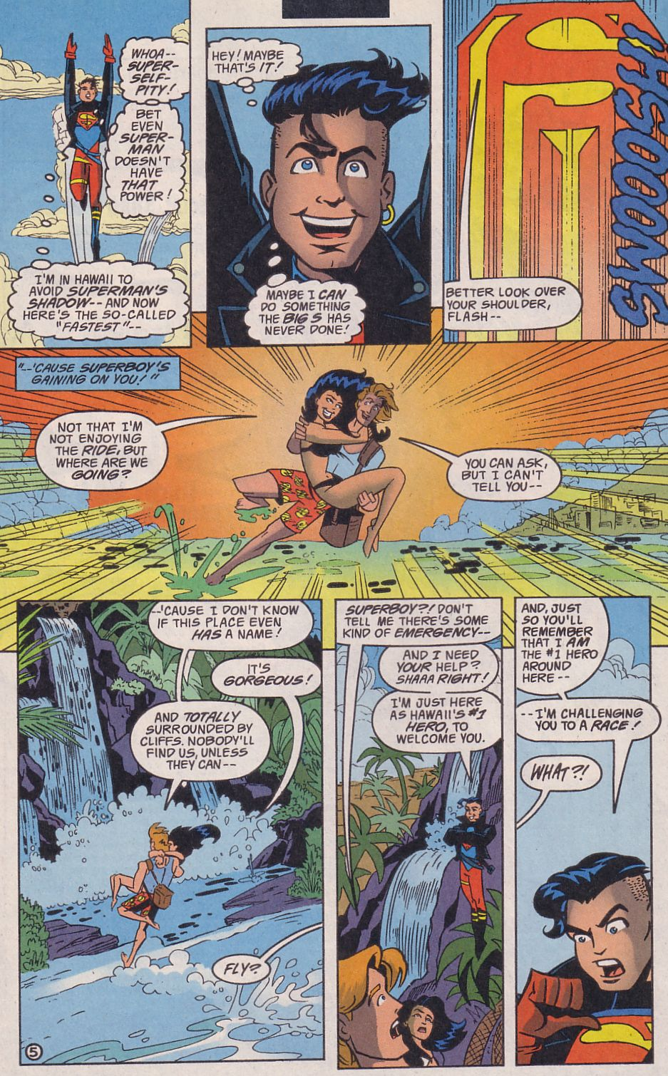 Read online Adventures in the DC Universe comic -  Issue #14 - 6